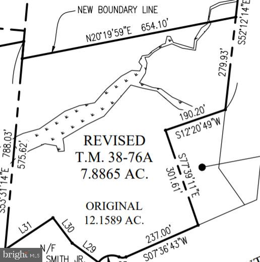 Land for sale -- 7.886 acres -- Newly zoned B2 --- I-95 Interchange Stafford, VA Courthouse Rd. - Route 630 - East Exit 140 - Turn Right on Wyche Rd - TM38-76A on right.  Stafford County targeted economic zone.  TM 38-76A to be mostly cleared, graded, and stabilized. Some improvements on site.  New paved road to be installed soon. Lot comes with to be installed public water and sewer utility hook up on site.   Columbia gas available.   Electric already on site,   Height restriction approximately 55'     May be combined with Adjacent additional 9.618 ac lot. TM38-76 for a larger Combined Lot of 17.5 AC. Updated tax assessment fee to be done by county.  Adjacent to a New to be built 530,000+ SF Warehouse w/ I-95 frontage.   New distribution center – construction starting immediately
