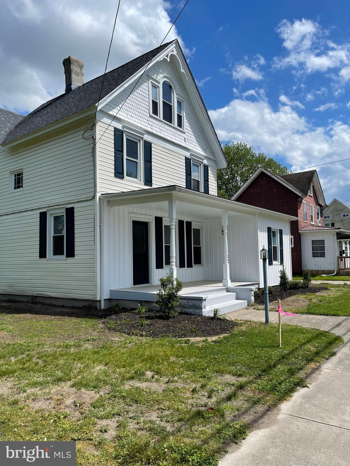 BEAUTIFULLY RENOVATED! This home is the definition of historic charm but with all of your modern bells and whistles. Fresh paint throughout, beautifully updated kitchen with skylight, granite countertops, and stainless steel appliances. Did we mention the first floor master suite? Boasting abundant natural light, this huge master bedroom also offers an en-suite bath with tile shower & dual sinks, and finally opening to your large walk-in closet; one of multiple featured throughout the home's other three bedrooms. We could go on and on, but this home is honestly a must-see, so schedule your showing today!!