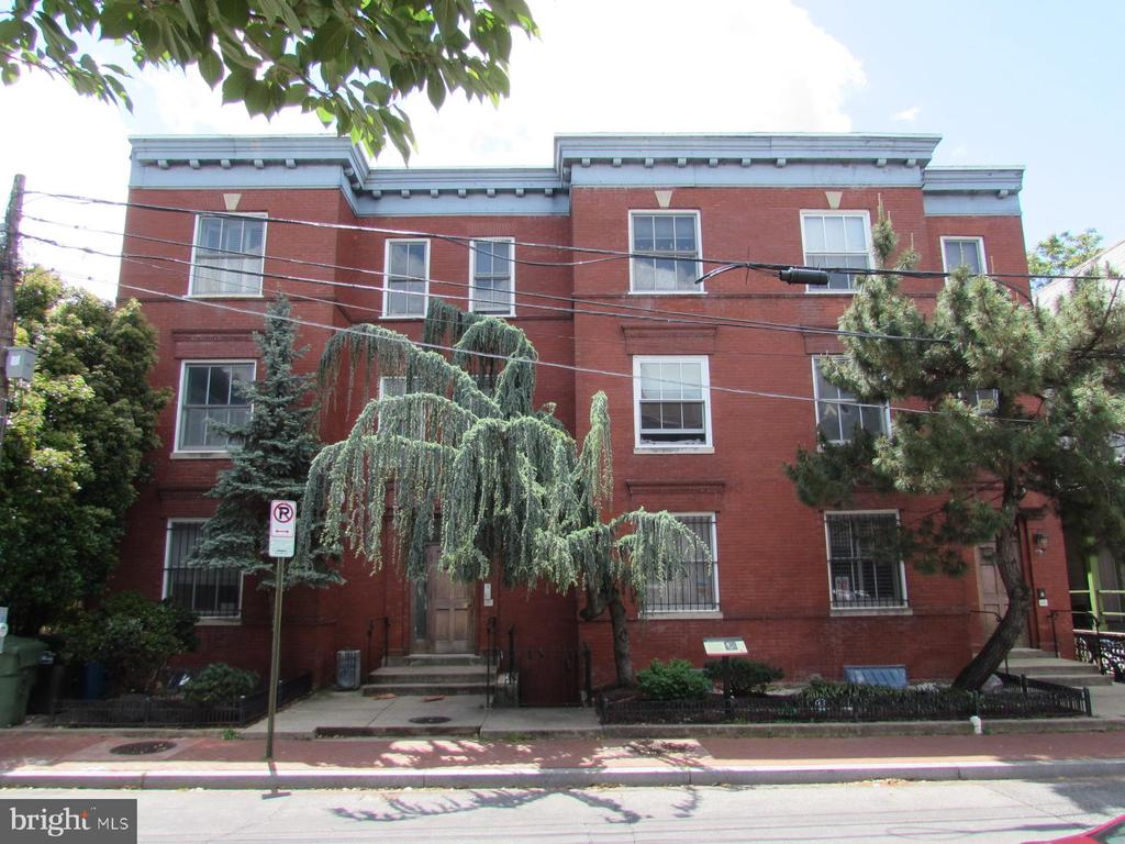 This condo is located Ledroit Park -  walking distance from the Shaw Metro, the U Street district, and Howard University. There is a south-facing deck with steps to a common courtyard in the rear of the building.  There are three bedrooms - the unit is 881 square feet.