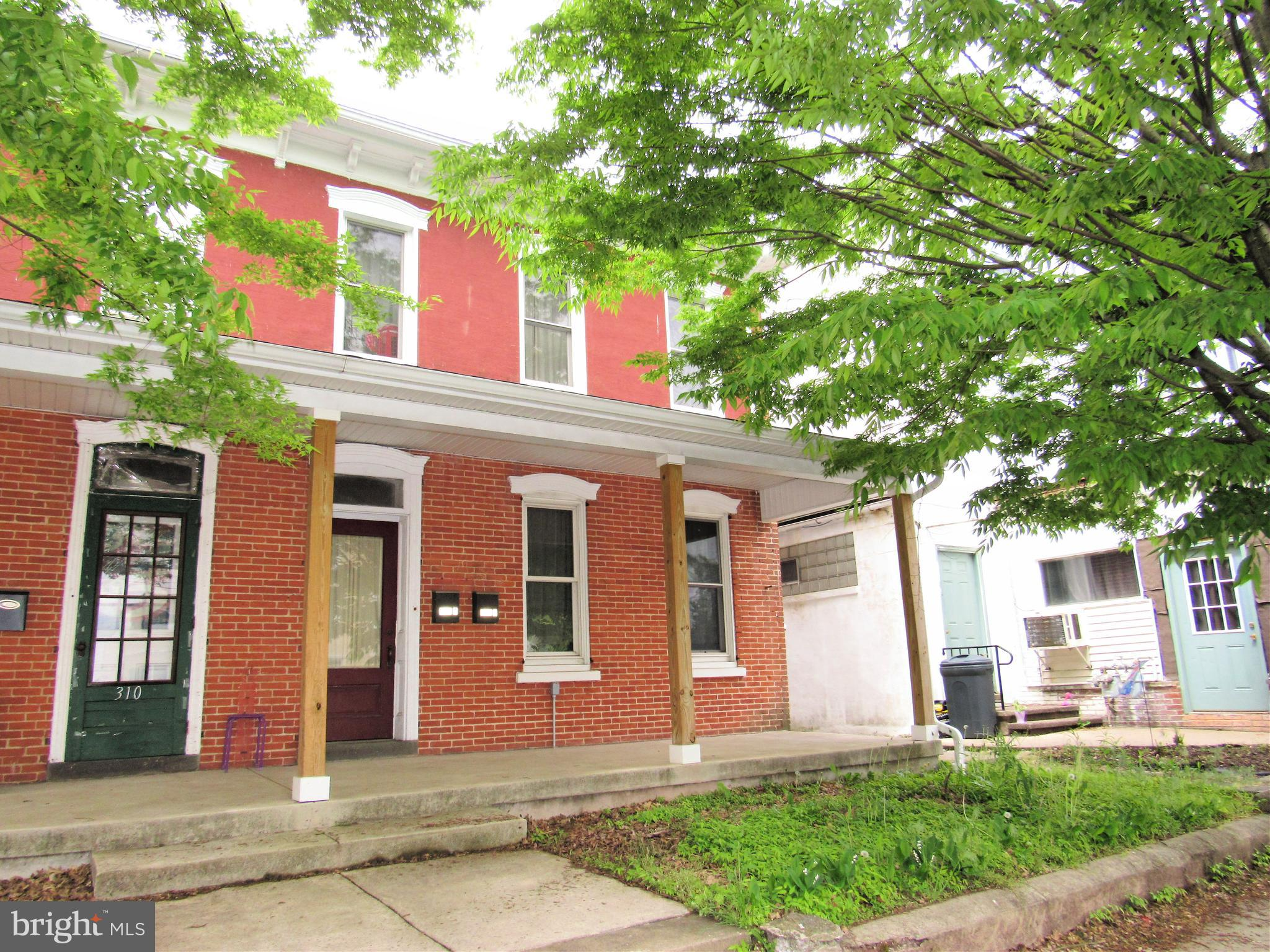 Twin duplex in very good condition which has seen many updates.   Great opportunity to live in one unit and have the other help with expenses.  Tenants pay electric and heat.  Both units are very spacious with two bedrooms.  First floor has access to the basement for storage, front and rear entrance.  Second/third floor unit has rear deck with stairs accessing rear yard.  Both units have laundry hookups.  Nice yard and rear parking for 3 cars.  First floor rent $800/month.  Second floor rent $950.00/month.  Call for details.