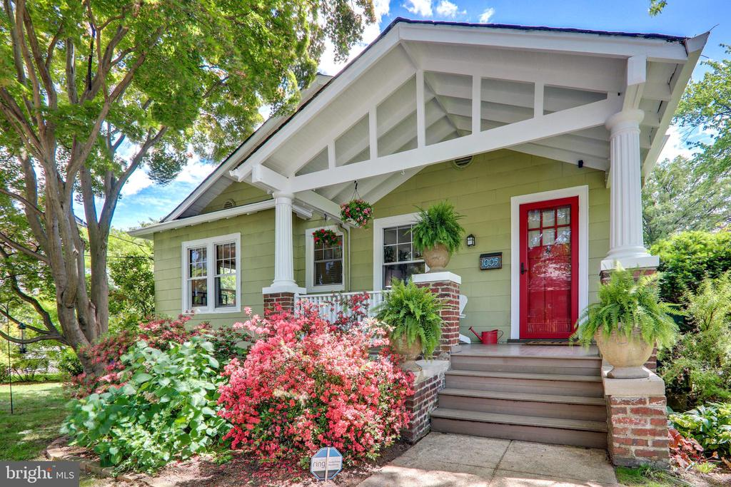**OFFER DEADLINE BY 3 PM TUESDAY** Welcome to this absolutely charming, detached home in Brookland.  This nearly 2000 SF home has beautifully refinished Heart of Pine floors, original details, lots of light through the large windows,  2021 renovated kitchen with pantry room , large living room and spacious dining room, central A/C and tankless water heater.  There are also 2 bedrooms and a 2018 beautifully renovated full bath on the Main Level.  Upstairs you'll love the large bedroom with space for seating and office areas and additional storage.  Downstairs the lower level was renovated in 2018 to include a family room or 4th bedroom, full bath, kitchenette area and separate laundry room.  The lower level has its own separate entrance and can be used as a potential rental or Au Pair/In-Law Suite.  Outside is a gardener's paradise where you can relax on the spacious front porch, enjoy the intricate plantings and raised veggie beds and appreciate the 2-car parking pad in the back.  A quick walk to Metro, shops, restaurants and parks!