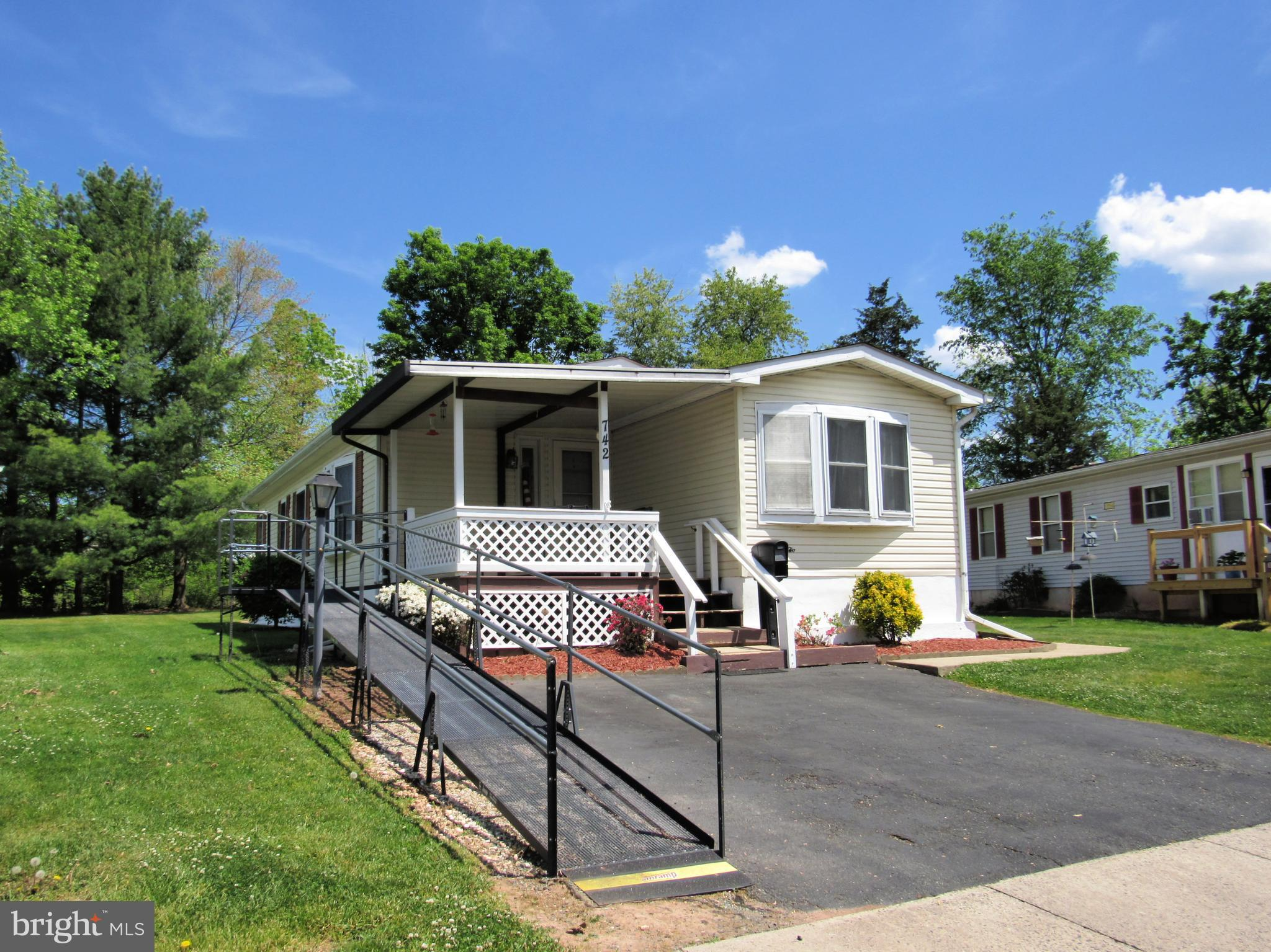 You'll love the setting of this home with large back yard and tree buffer.   Home is in very good condition with new roof 4/21, heat pump and hot water heater installed 2019, newer carpet and replacement windows.  Spacious main bedroom suite with walk-in closet and large bath with walk in shower.  There is a front porch, side deck and rear deck to enjoy peaceful backyard.  Conveniently located close to shopping, main routes of travel and Montgomery County park system.