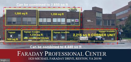 1820 Michael Faraday Dr #1st Floor Reston VA 20190