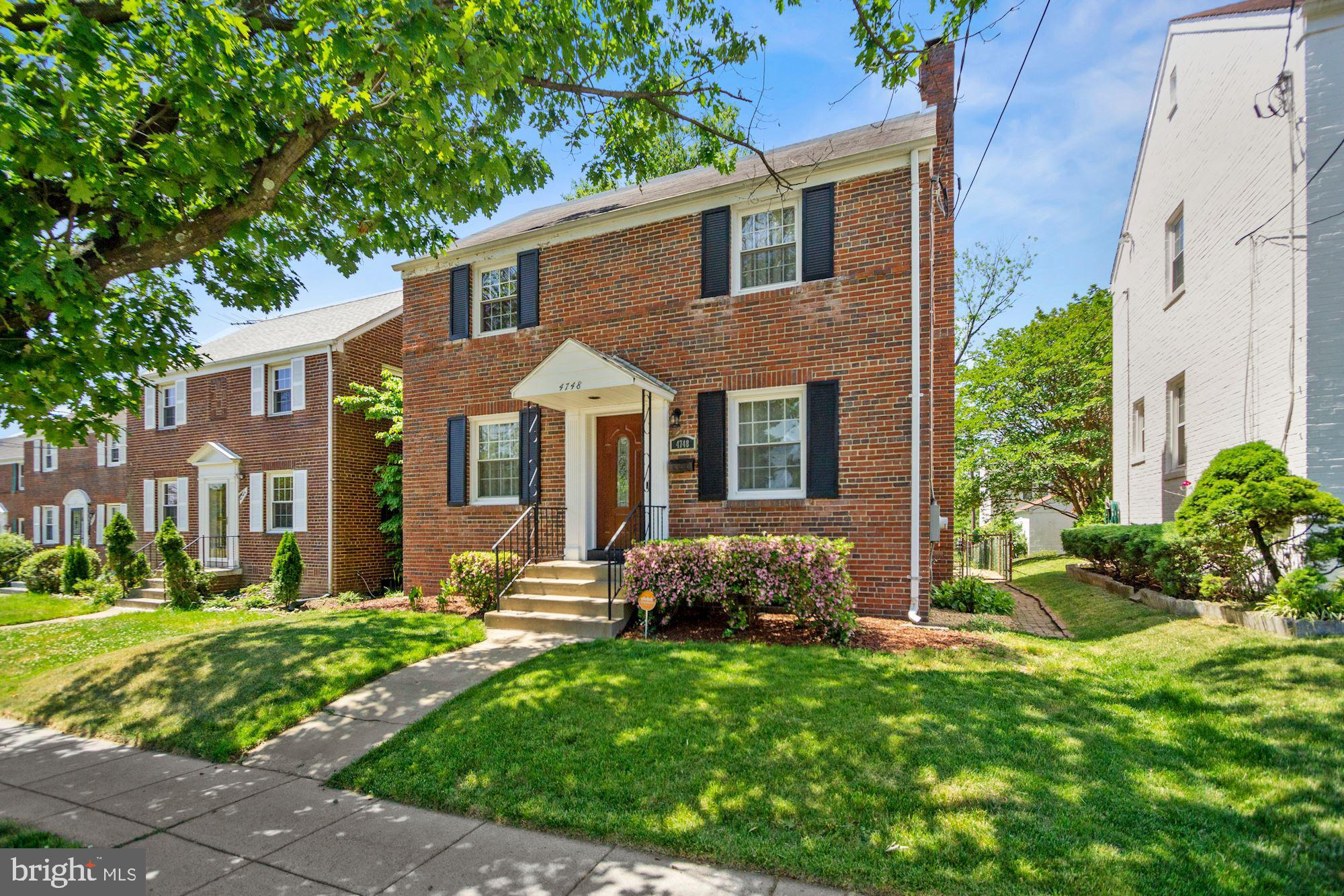 ***OFFER DEADLINE  - MONDAY JUNE 7 AT NOON     Welcome home to this stunning 3 bed, 2.5 bath Michigan Park gem with upgrades and updates throughout. You'll love the charm of this DC Colonial featuring an open floor plan, newly renovated kitchen and upgraded bathrooms. The main level is highlighted by newly refinished hardwood floors, new lighting, a fireplace in the living room, a updated half bath and beautifully renovated sunroom. The second level features newly refinished floors, 3 bedrooms and 2 full bathrooms - one with a soaking tub! Two closets in the primary bedroom allow for plenty of storage. High ceilings in the basement allow room for gym equipment, storage or future improvements . Updates include new furnace in 2020, new hot water heater in 2020, new water filtration system/softener in 2021.  Owner has meticulously maintained the home with a major renovation in 2018, including gourmet kitchen and all new kitchen appliances, upgraded electrical panel as well as all new lighting fixtures and doors throughout. This home features two private parking spaces and fully fenced backyard.  Conveniently located near Catholic University, Michigan Ave and Rhode Island Ave. We can't wait for you to come visit!