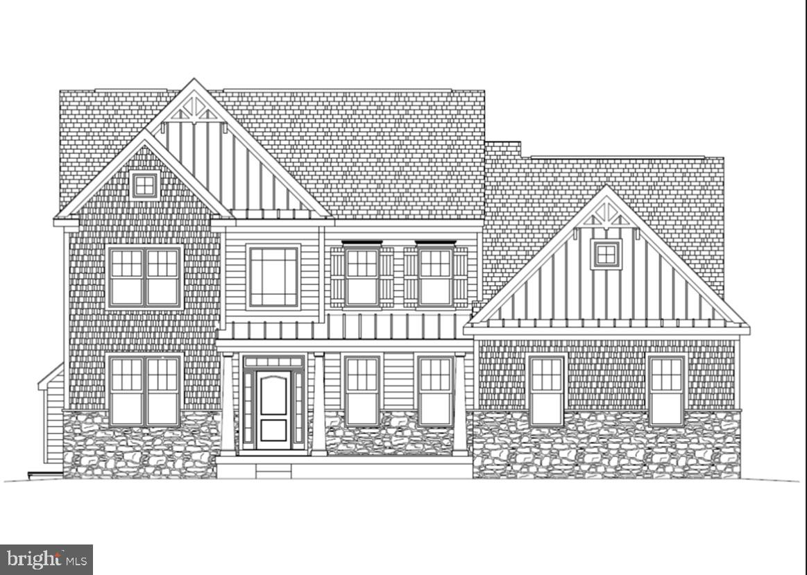 Bristol Craftsman on homesite #40 at Brookfield. 4 bedrooms, 2.5 baths, extended Kitchen and Breakfast Area, Study and a 2 car garage. The Owner's Suite offers 2 large walk-in closets and luxurious Owner's Bath.