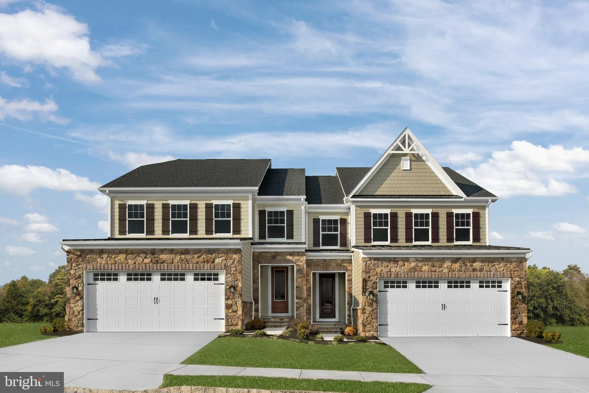 QUICK MOVE-IN  Haverford at Greystone by NVHomes! Luxury twin Homes in a spectacular estate setting near Rt. 100, 202, the 322 bypass, and West Chester Borough. The Haverford twin home offers luxury on every level. Just off the 2-car garage and family entry, versatile flex space can be used as an office, study or a 1st-floor bedroom with full bath. The gourmet kitchen and dining area with large island overlooks a great room, perfect for entertaining. Upstairs, sensational loft space leads to 2 bedrooms and a full bath, as well as your luxurious primary suite. In here, dual walk-in closets and double vanity bath and seated shower provide incomparable comfort. Finish the expansive basement for more living space or a guest suite. The Haverford at Greystone has it all.  Other floorplans and homesites are available. Photos are representative.