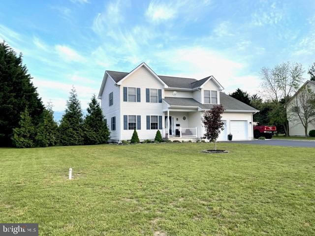 Pride of Ownership describes this 4-BR, 3-BA home located in John Char Estates in Harrington (Kent Co.), Delaware. Recent updates include fresh interior paint, new flooring, & upgraded countertops. Spacious laundry/utility room with built-in upper and lower cabinetry and wash sink.  Stroll through the rear sliding glass doors onto the deck which overlooks the above-ground pool.  Sit beneath the lighted gazebo on the deck or enjoy the spacious adjoining patio.  Rear property line is bordered by white vinyl fencing, and the rear property line is bordered by leyland cypress.   The storage shed offers electricity with heat/air units.  Don't miss seeing the Virtual Tour!