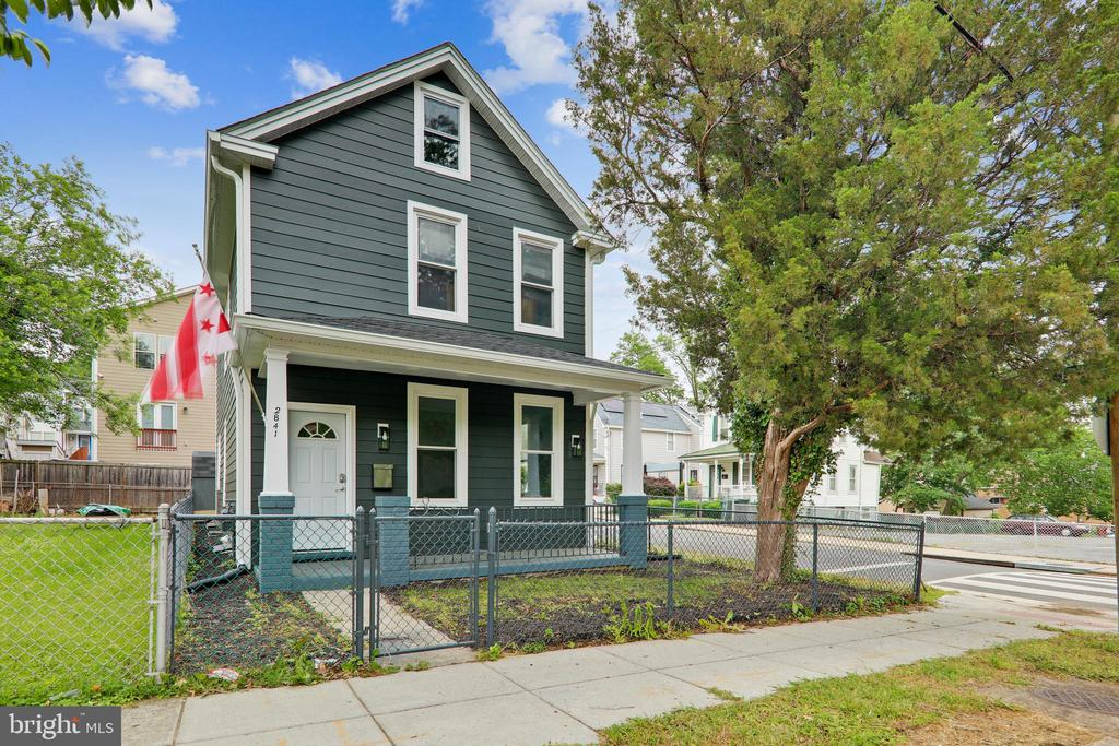 Beautiful Fully Renovated 4 Bedroom house directly across the street from Langdon Park.     Enjoy a bright, modern, open layout on the first floor which combines the Kitchen, Dining, and Living area.    Gas burning Fireplace, lots of windows to let in the natural light.   1 bedroom on the first floor with a half bath   Second floor has 2 bedrooms with a Jack and Jill Full Bathroom.  While the Master bedroom has a dedicated full bathroom.    Great neighborhood - sit on your porch and look at over Langdon Park with its fields, sports faciities, and outdoor pool.  Walk to the library and all the shops and stores on Rhode Island Ave.   Short drive to Wholefoods, and easy access to Downtown.    Priced competively.