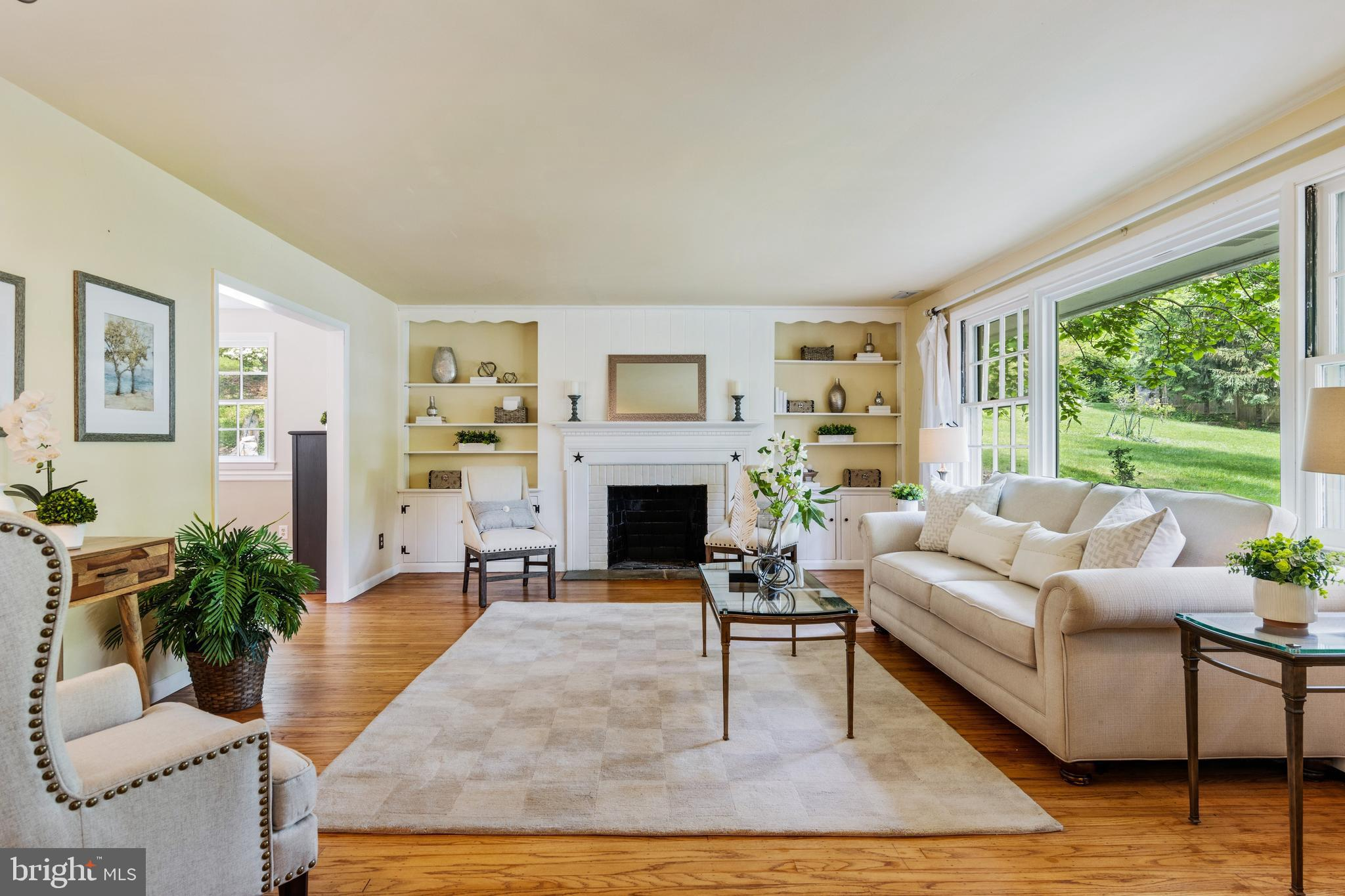 SHOWINGS WILL ONLY TAKE PLACE DURING THE OPEN HOUSE SUNDAY 6/13 FROM 1-3PM. Charm abounds in this updated and well-maintained split-level home located at the end of a quiet cul-de-sac in Devon. The first floorcontains a sun drenchedand spacious living room with oversizedwindows looking out on the picturesque front lawn.The spacious living room  is centered around a wood fireplace whichflowsinto the dining room with hardwoods throughout. Open to the dining room is the kitchen which was updated in 2019. The kitchen contains new white shaker style cabinets, new countertops, new floors, and appliances. The kitchen has access to one of two back patios-perfect for entertaining this summer! From the first floor, a flight of stairsleads to a laundry room/powder room and two large bonus rooms, currently used as an office and tv room; they can easily functionas a playroom or gym. The upstairs level features a large primary bedroom with en-suite bathroom and three well sized bedrooms with a hall bath. The well landscaped backyard featurestwo patios, an outdoor stone kitchen and beautiful backyard!Close to Devon Yard, Jenkins Arboretum, and the Devon Train station! Zoned for award-winning T/E schools! Recent upgradesinclude a new roof, two car garage and a shed.