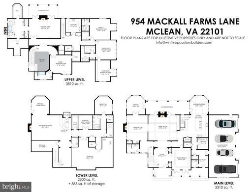 954 Mackall Farms Ln Mclean VA 22101