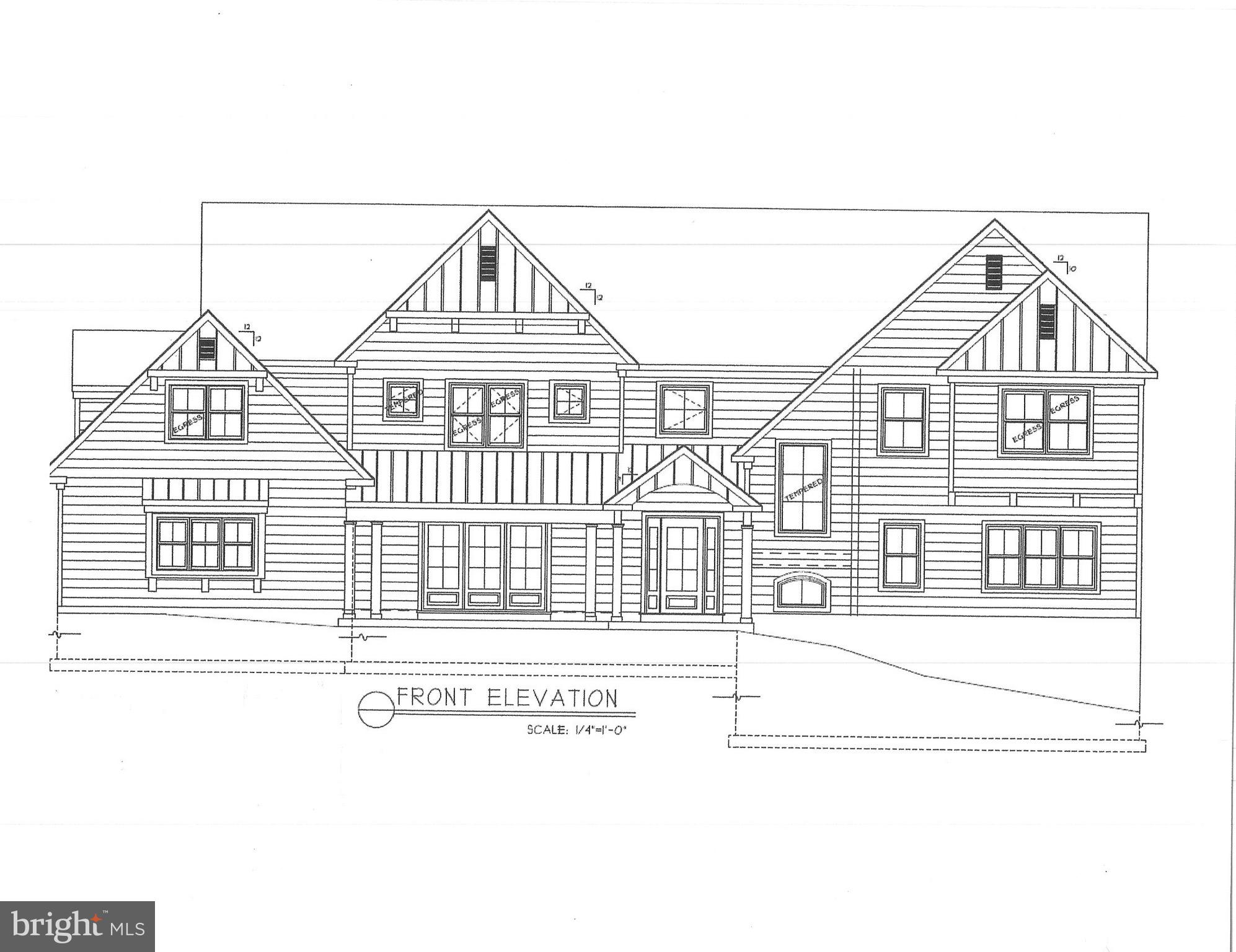 Incredible opportunity to purchase a truly exquisite custom masterpiece in a very desirable location.  This new construction home, designed by R. A Hoffman Architects, Inc and to be built by Top Notch General Contracting, offers five bedrooms, four full and two half bathroom, 4,619 square feet of luxurious living space, and a three-car side entry garage on a gorgeous 1 acre lot in Easttown Township. It's the perfect blend of quality construction, functional floorplan, high-end finishes, and location. Interior features include site finished white oak hardwood floors throughout the main level and upstairs hallway, custom built-in cubbies in mudroom, 2-zone high efficiency HVAC system, extensive custom moldings and recessed lighting throughout, 2nd floor laundry, impressive two-story entrance foyer, wet bar with beverage center, wine storage,  and Anderson 200 series wood windows. The gourmet kitchen has 48 inch custom painted maple cabinetry,  stainless steel professional grade appliances, massive center island with overhang, tile backsplash, and quartz countertops. The primary bedroom suite has huge his/her closets with custom storage systems and spa like bathroom with furniture grade double bowl vanity, stand alone soaking tub, large shower with frameless glass enclosure, and Carrera marble throughout. Exterior features include James Hardie lap siding, bluestone walkway to front door and rear doors, bluestone patio off breakfast and dining rooms, and a large rear yard. This home is ideally located on a cul-de-sac street close to all major commuter routes, shopping, dining, Episcopal Academy, Aronimink and Waynesborough Country Clubs, and is part of the top rated Tredyffrin Easttown School District.  One of the owners is a licensed PA broker. Taxes displayed are for old home on the property and will be re-assessed after settlement.  Expected completion summer 2022.  Pictures are from recently built homes by same builder.
