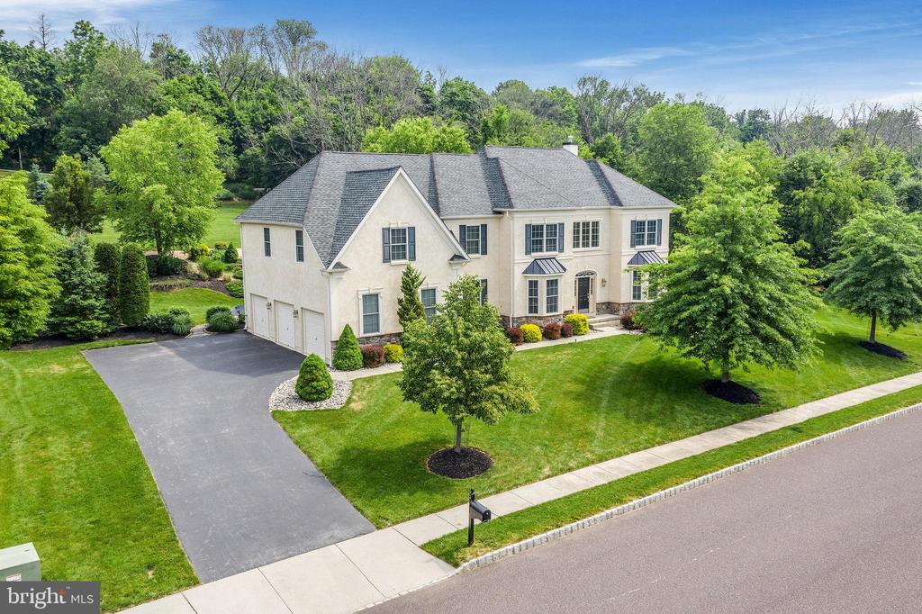 Welcome to 3 Cannon Hill Ln, a beautiful center hall colonial in Upper Providence Township!  This home is nestled on just under a 1 acre lot in a quiet 16 home development on a cul-de-sac street.  Upon entering the home you are greeted by a 2 story foyer with hardwood floors that flow throughout the foyer and kitchen.  The foyer is flanked by a formal living room and formal dining room with crown moldings and judges panels.  Head back to the large gourmet kitchen with upgraded appliances, corian countertops, a center island with gas range, and a breakfast bar.  The kitchen opens to the morning room with a wall of windows that look out at the wooded backyard with a pavers patio, extensive hardscaping and a hot tub, the perfect setting to relax on a warm summer night.  The kitchen also opens to the large family room with gas fireplace.  This open floor plan is an entertainers delight!  The study/office, main level laundry and half bath with wainscoting complete the first level.  Head upstairs from the main staircase in the foyer or the rear staircase in the kitchen and you will find an expansive master suite with 2 walk-in closets, dressing area and sitting room finished with crown moldings and judges panels that extend through hallway.  The master bath has been updated with a newly tiled spa tub and oversized walk-in shower with a frameless glass door.  There are 3 additional generous sized bedrooms.  2 are joined by a Jack & Jill bath, and the 4th with an ensuite bath complete the 2nd level.  A 10 circuit generator has been installed so no worries about losing power in those summer thunder storms. This home is being offered for the first time by it's original owners and has been gently lived in and meticulously maintained.  Professional photography of the interior and exterior will be available by mid-week.  Showings begin on Friday afternoon, 6/11.  Schedule your appointment and come take a tour of your next home!