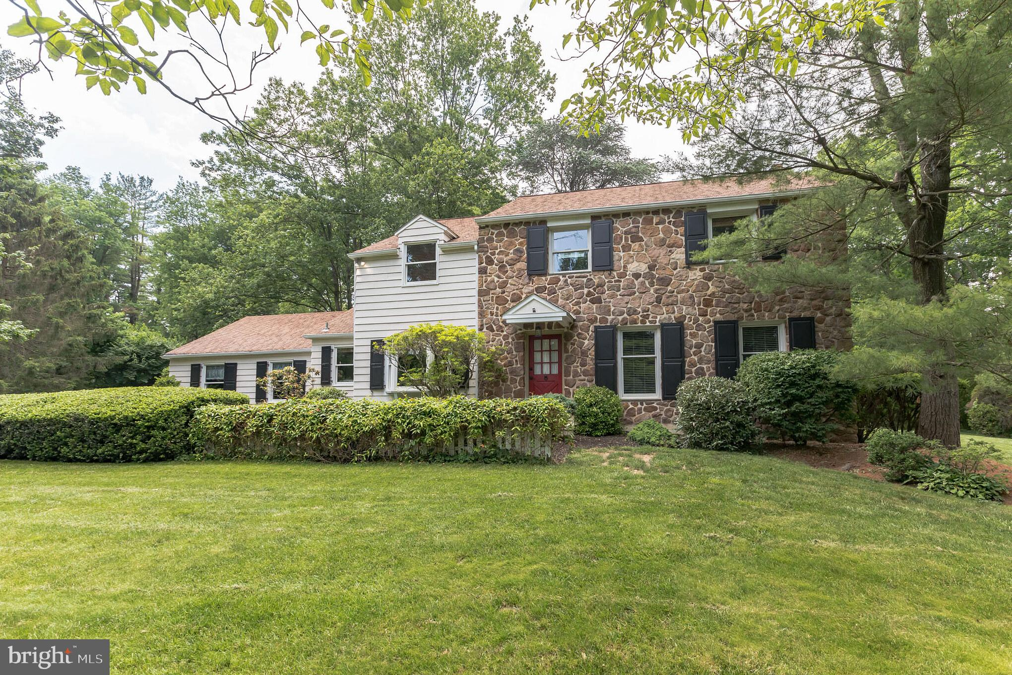 Move right into this beautiful 2-story, 4 bedroom, 2 ½ bath home in highly desirable Easttown Township and T/E School District! This perfect traditional center colonial home has been loved and meticulously maintained by the same owners for the past 25 years!  The Main Level features formal living and dining rooms and an eat-in kitchen that opens to a spacious breakfast room. The kitchen is complete with a large center island with a gas cooktop, double walled over, wood cabinetry, recessed lighting and stainless steel appliances. A large study/family room with wood burning fireplace, main floor laundry, powder room and access to the garage complete the first floor. The second floor houses the primary bedroom with a walk-in closet and primary bath, 3 additional generously sized bedrooms and a hall bath. Downstairs the finished basement adds close to 400 additional square feet and is perfect for the entire family with plenty of room for entertaining or additional storage!  The screened-in porch and pergola-covered paver patio are ideal for entertaining and the private, flat backyard is bordered by the meadow and pond of the Upper Mainline YMCA grounds.  Close and convenient access to shopping,  dining and the town centers of Berwyn, Devon, Wayne and Paoli.  Don't miss your chance, schedule your private showing today!