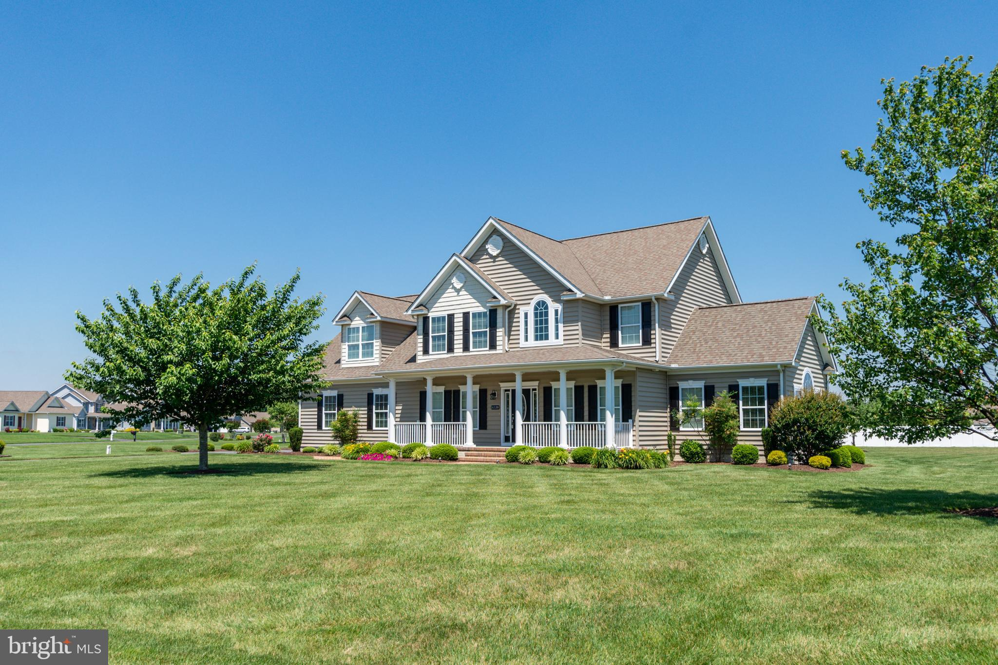 Don't miss this one, located close enough to the Delaware beaches, tax free shopping and local restaurants yet far enough away to stay away from the conjestion of Lewes & Rehoboth Beach.   This stunning 4 bedroom and additional bonus room,  2.5 bathroom home is situated in the quiet community of River Rock Run. The bright and airy floorplan features an open layout with hardwood floors through the main areas, sunroom, formal dining room, granite countertops, stainless appliances, covered back porch, paver patio, unfinished basement and more situated on a 1.09 acre lot with room for a swimming pool.  This home has it all.  Call to schedule your appointment today!