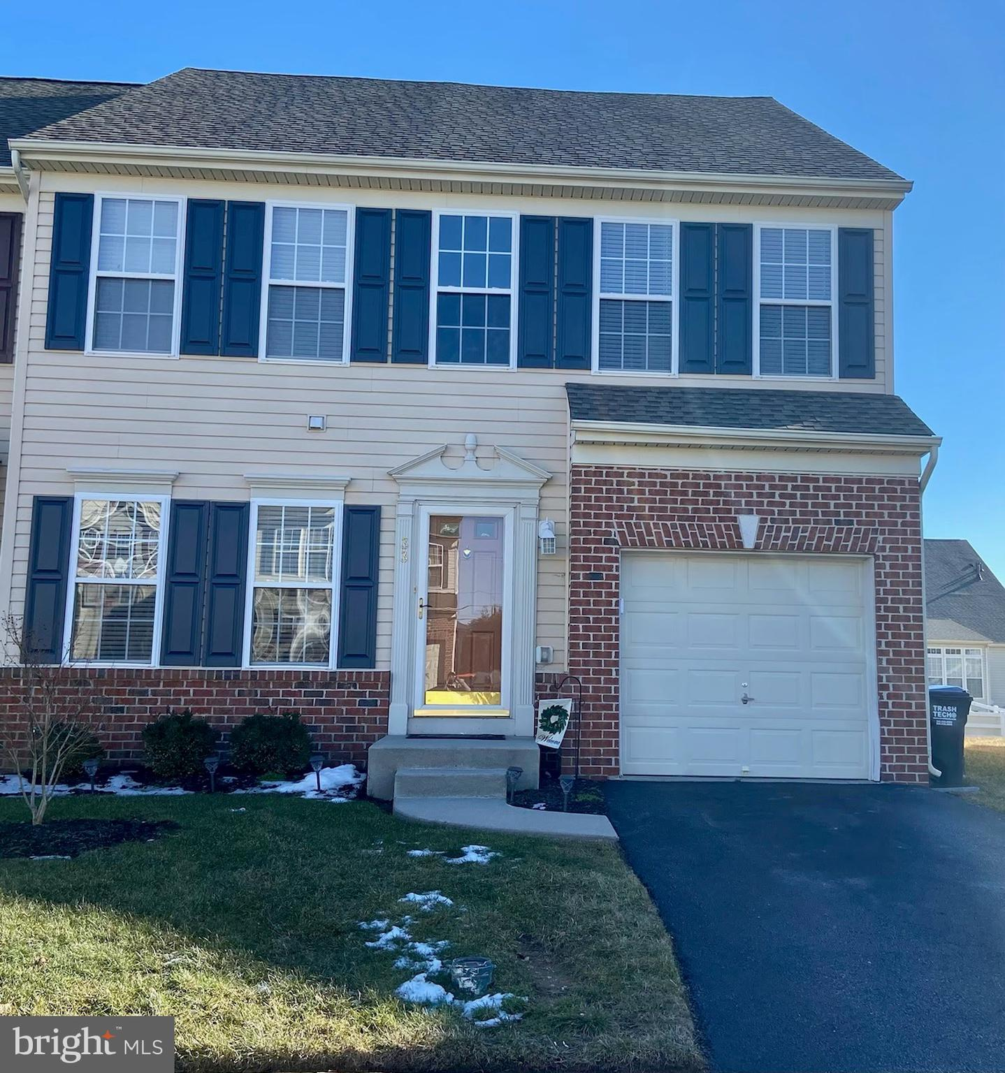 Settle into this well maintained town home in Middletown Crossing, located in the award winning Appqouqinimink School District, Walk to restaurants & shopping. The property is move in ready.  The kitchen features a breakfast nook with plenty of 42 inch cabinets with a tiled back splash and granite countertops. The dining, living room & sun room open to each other. The sun room features a gas fireplace and large windows to allow natural light. The slider exits to the patio with a fenced in yard  with vinyl fencing.  The large main bedroom with spacious bath, is located on the main floor featuring a double vanity.  The second floor features a loft that can be used as an office, library, rec room etc.  Two  large bedrooms have nice closets. The unfinished basement leaves endless possibilities. Open House Cancelled on 2/28.