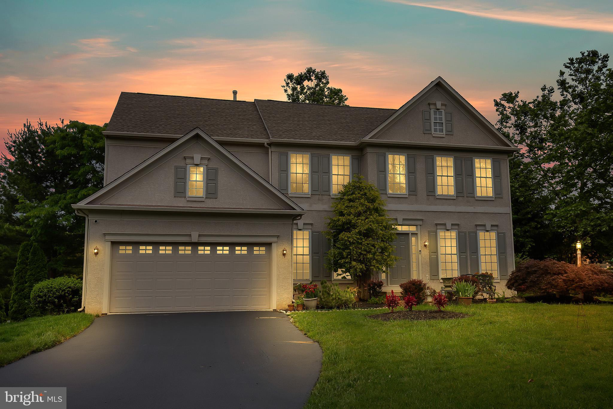 Welcome to 144 Applegate, a beautiful four-bedroom, two-bathroom, and two half-bath single-family home in the highly sought-after community of Applegate in West Goshen Township. This stunning, luxurious home features a two-car garage, a well-manicured private backyard, and has been lovingly maintained over the years. Stepping into the home, you will be in awe of the two-story foyer with hardwood floors, with the dining room and formal living room on both sides of the entry foyer. Stepping further into the entry foyer leads you to the expansive family room, with floor-to-ceiling windows permitting ample amounts of natural light to pierce through the entire main floor. The family room has an open concept into the breakfast area and the kitchen, perfect for entertaining!  The kitchen, with its gleaming hardwood floors, tons of cabinet space, gas range, and large kitchen island, is ready for its new owners to make it theirs! The kitchen has access to the garage and mudroom! Completing the main floor is an incredibly bright powder room! Ascending the staircase, the second floor hallway features an open air design with a view of the foyer and family room! With three large bedroom, one guest bathroom, and a huge Master Suite, this floor embodies how meticulously the home has been cared for over the years. The Master bathroom features a huge double vanity, a soaking tub, and a walk-in shower, along with a linen closet! A large window completes this bathroom, brightening up the entire room with sunlight. The basement is expansive and is perfectly ready to be finished to provide a huge amount of entertainment space to the next owners! The basement also features a walk-up to the backyard, and a powder room in anticipation of finishing off the space! The backyard has also been lovingly cared for, with steps leading to a large brick paver, well-manicured bushes and trees, along with a shed and a fence! To top it off, 144 Applegate is also located in the highly sought-after West 