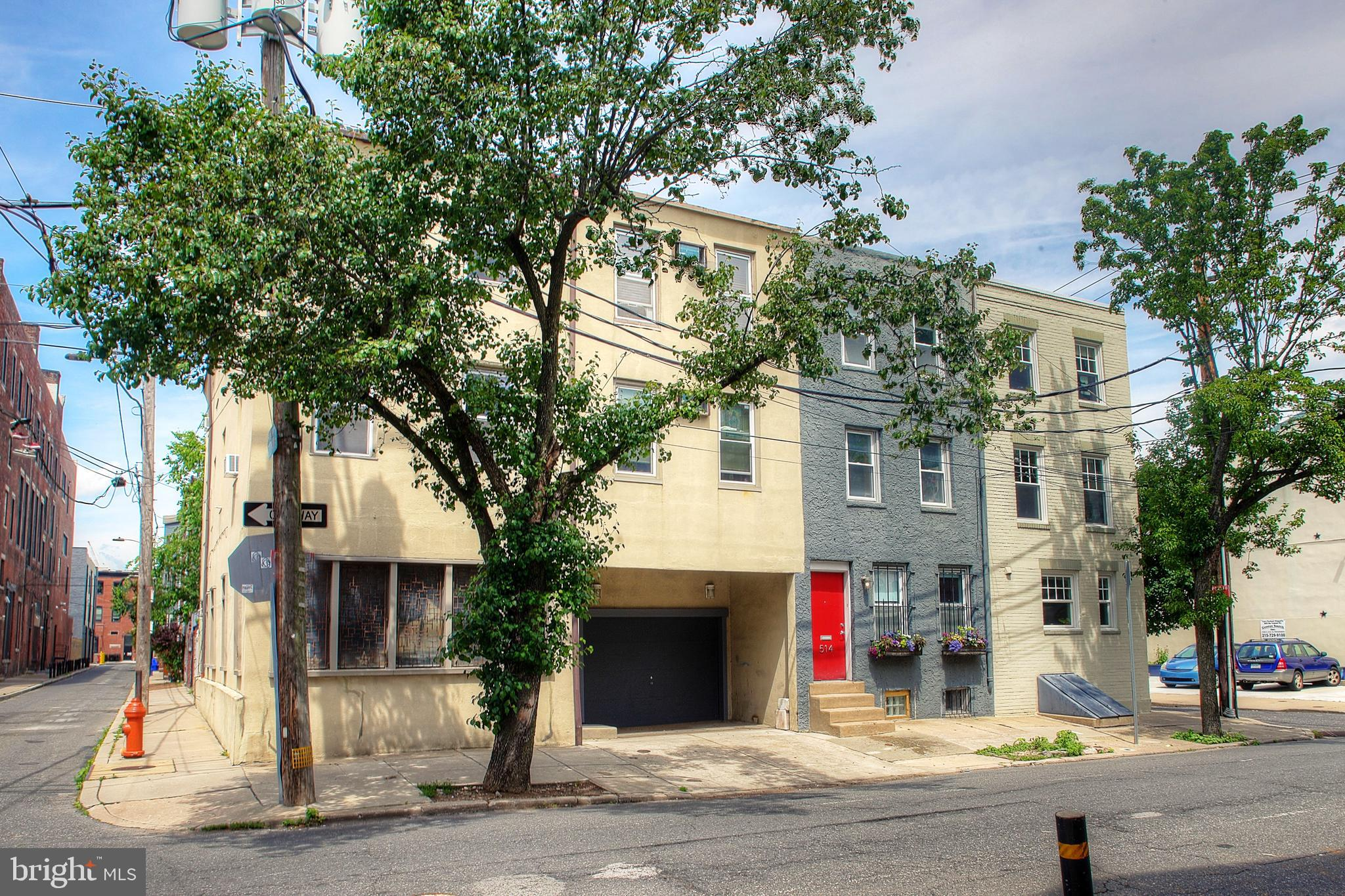Great Development Opportunity for either single or multi-family!!  This is a 3-lot parcel on the border between the Fitler and Rittenhouse Square neighborhoods.  It includes 516 and 518 S. 21st Street as well as the connecting 16' x 30' lot at 2105 Rodman Street.  The total parcel on the corner of 21st and Rodman has curb-cut access to both streets.  The property at 518 S. 21st Street is a single-family home with 4 bedrooms, 4 bathrooms, a kitchen/dining great room, a large wall of windows, 9 ft. high ceiling living room, a first-floor sun room with 2-part full bathroom, and a beautifully landscaped patio and garden.  It is a corner property with many south facing windows, as well as windows facing north, east and west.  It has central heat and air conditioning.  There is a full kitchen on the first floor and a kitchenette/bar on the third floor.  It is a full lot 3-story house plus a full basement.  It has large scale rooms with antique architectural elements, moldings, a custom fireplace mantle in the dining room with a wood stove insert, cedar lined storage closet and stained and leaded glass doors & windows.  The two bedrooms on the third floor have en-suite bathrooms installed in 2016.  All of the rooms in the home have at least two outdoor views.  The property at 516 S. 21st has a garage and driveway on the first level and a two-story rental unit above.  It has two bedrooms, one bath, full kitchen, dining room and living room, and a balcony overlooking the back patio.  This unit is tenant occupied, but will be delivered vacant at settlement.  The lot at 2105 Rodman opens to the landscaped patio and two additional parking spaces.  The home could be easily updated or completely renovated into your own style spectacular home with over 3,200 square feet, multiple parking spaces, deck and a beautiful garden patio.  The home is in both the Albert Greenfield and Chester Arthur school catchments.  The neighborhood includes some of the best shops and restaurants in the