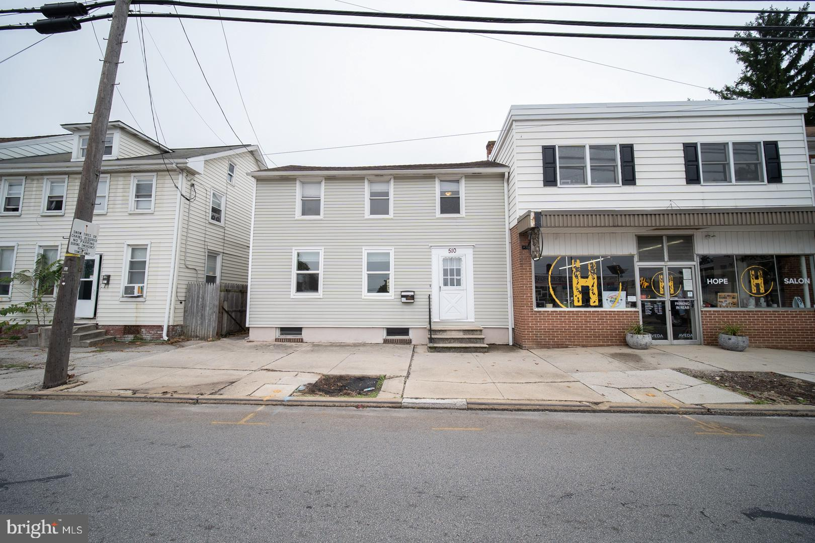 Come check out this inviting 2 bedroom 1 bath semi-detached home in Hanover's Historic District. Just steps away from Downtown Hanover. Enjoy the rich agriculture in what is known as the Snack Capital of the World.