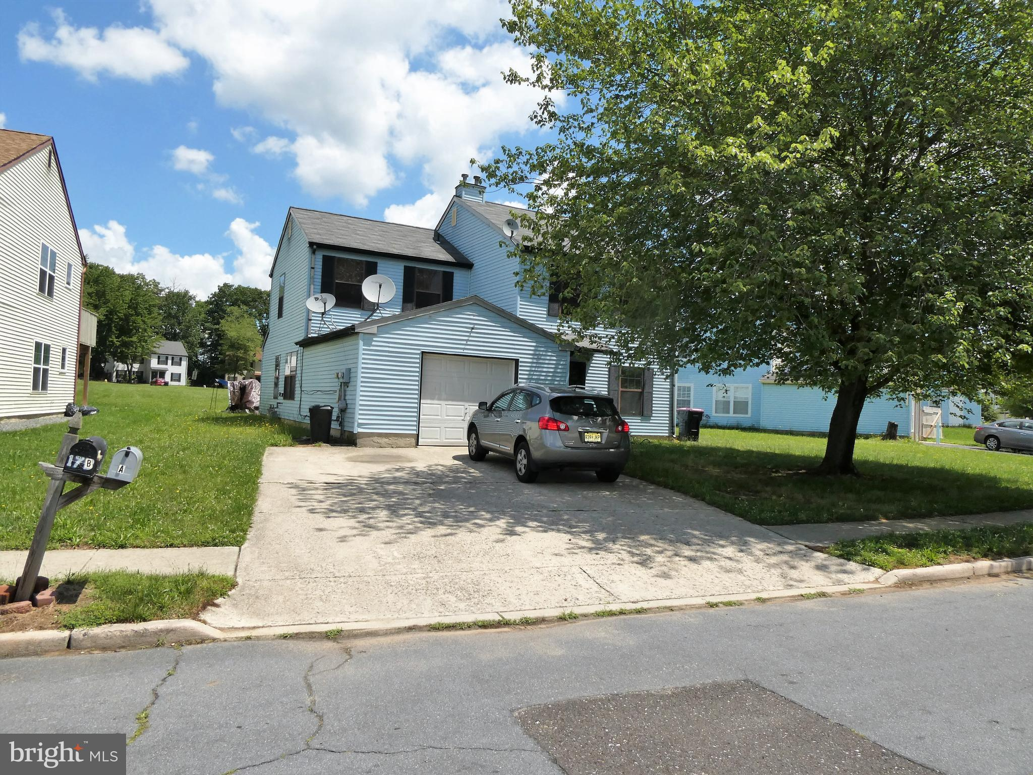 Great Investment Duplex!! All separate utilities,  2 beds, 1 bath in each unit. Original owner and well maintained. Always rented! In Gloucester Twp!! Easy access to major highways and shopping, Can be in Philadelphia in 15 mins, Gas heat, Central air, Onsite parking, Maintenance free exterior.
