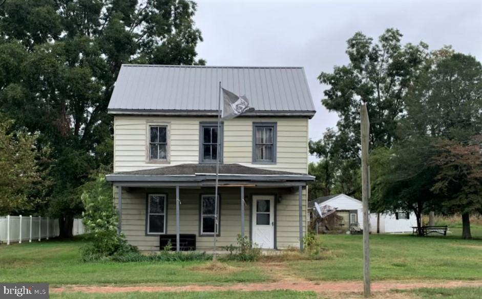 All the charm of beautiful, historic East New Market can be yours when you make this fixer upper your new home.  Entertain  family and friends in the  park- like deep yard  that has a  building with a screened porch.  The house has a newer metal roof, so that is already done for you.