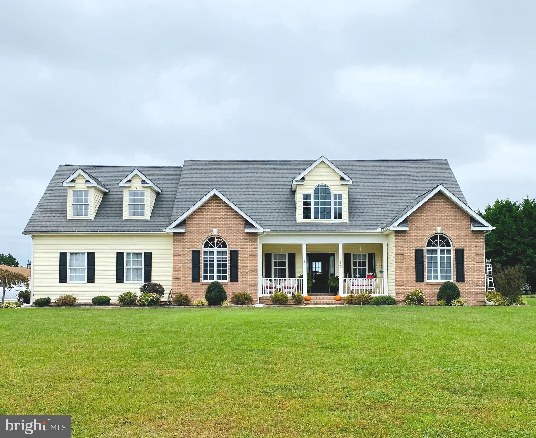 Wow!!!  What a great home in Lucky Estates off Rt. 14 east of Harrington.  4 bedrooms, 2 full bath, oversized 2 car garage with epoxy floor, on demand water heater, heat pump with propane back-up, .57 acres, screened porch, 14 x16 deck, propane fireplace in Great Room, beautiful owner's bedroom and bath with jetted soaking tub and separate shower, dining room with Cathedral ceiling, split floor plan, laundry room with pantry shelving and a storage shed.  The 4th bedroom is on the 2nd level accessed by a stairway off of the kitchen.  This room encompasses the entire 2nd floor being approximately 69 x 26 with 3 closets (one closet can access plumbing to have its own bath) and 3 dormers.  This home also offers a irrigation system, NO HOA,  a 12 x 6 walk-in closet in the owners suite, tray ceiling, numerous ceiling fans throughout the home and has been lovingly cared for.  Don't wait.  This home will not last long!!!