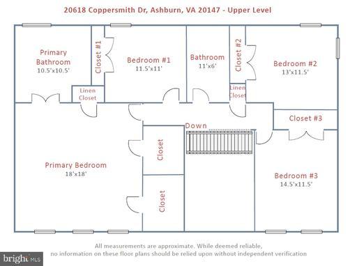 20618 Coppersmith Dr Ashburn VA 20147