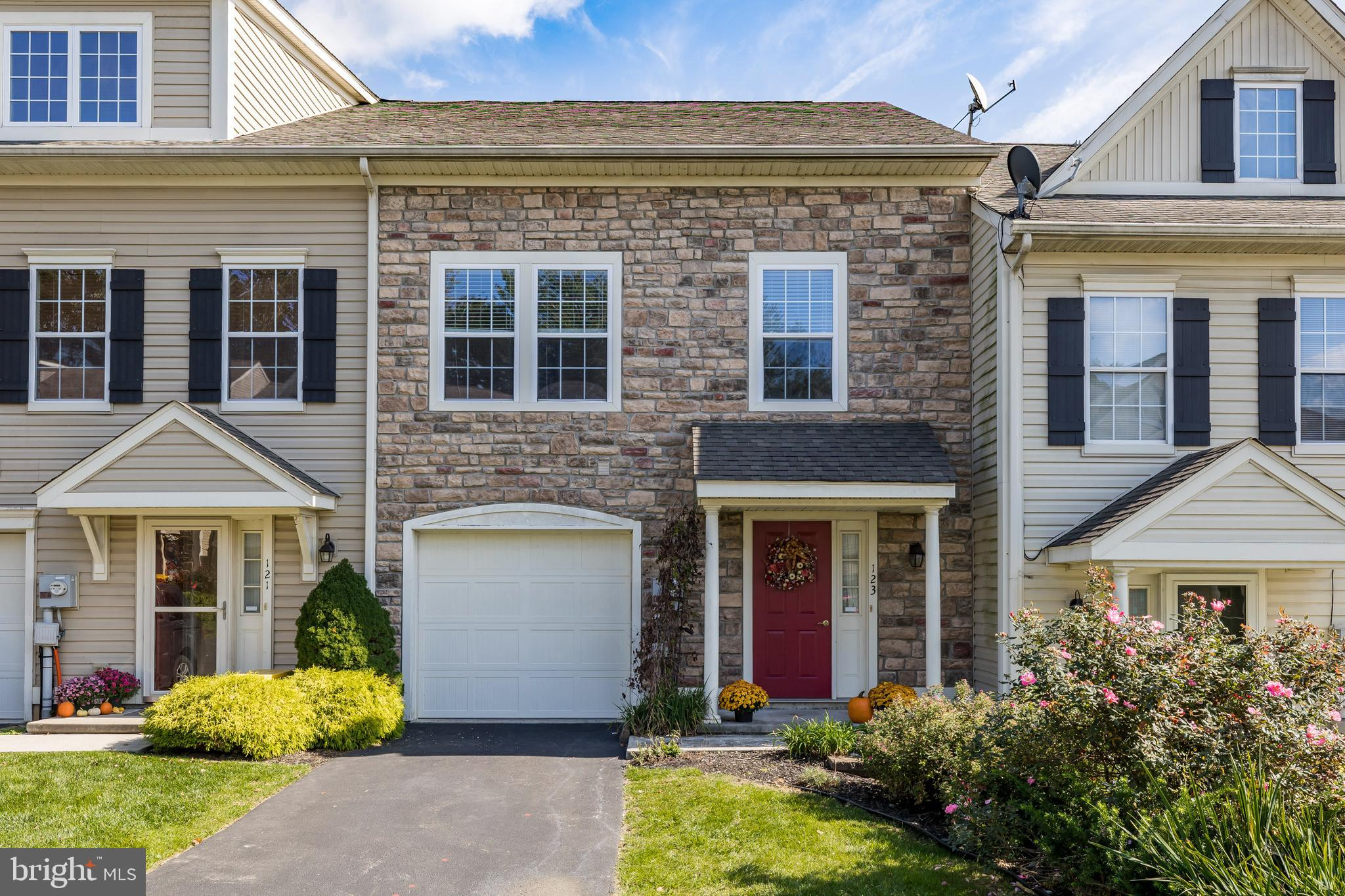 A beautiful townhome located in the bucolic Honey Brook township is waiting for its new owners. This lovingly maintained home features brand new flooring on both the main and upper levels and creates a warm and cozy feeling the second you walk in. From the front door you are greeted with a nice open foyer that has a half bath and closet to store away coats and shoes. The floor plan opens up to showcase your dining room that flows easily flows into your large kitchen with lots of cabinet storage as well as counter space. The large living room boasts lots of natural light and has a sliding door to lead to your quiet backyard space. The upstairs features 3 nice sized bedrooms with the master truly providing you with the comfort and luxury you would expect in a home. The master bathroom is large with linen closet and  double vanity sink. Venture into your massive walk in closet that is almost the size of a bedroom! The upper level is completed by an additional hall bath as well as laundry. The only thing for the buyer to do is come in and enjoy living in the country with all the amenities one could want in a home.  Don't delay and schedule your appointment!
