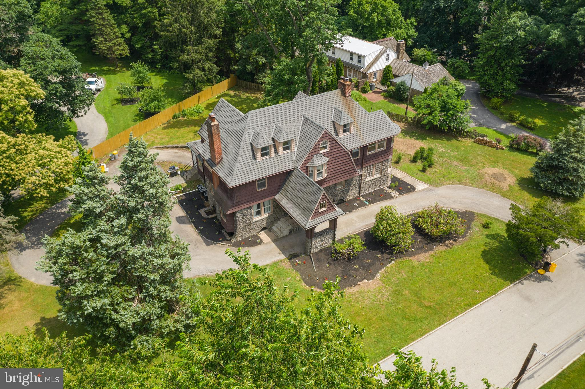 OPPORTUNITY KNOCKS!!! Take advantage of this RARE OPPORTUNITY to update & make this STATELY 1865 STONE VICTORIAN MANOR HOME on a no-through CUL-DE-SAC street  & PRIVATE & SERENE .79 ACRE FLAT LOT your own... Prominently set back from the road with a long circular driveway in the WALKABLE Community of Bala Cynwyd / Lower Merion Township you are steps to AWARD WINNING Belmont Hills Elementary School, Township Park (baseball, basketball, playground, Library & Belmont Hills Pool!) . This impressive home boasts 4600 + square feet of living space on 3 floors w/ 6 bedrooms & 4 baths. Built at a time when Artisan Craftsman took great pride in their work, this STONE HOME offers Character & DETAILS of a Bygone Era and OOZES w/ ELEGANCE!!! Grand Center Hall Entrance, Tall Ceilings, Beautiful Flared Staircase w/ original Stained Glass Window over the Landing, abundant Wainscoting, Mouldings, Wide Baseboards, Plaster Walls, Original Doorknobs, Original Hardwood Floors w/ intricate inlay +++. This Amazing Home offers the perfect setting for Intimate Family Gatherings & Grand Scale Entertaining. This home has been thoroughly enjoyed for the last 11 years by the current owner who has added some thoughtful updates including: NEW ROOF (2010), NEW AIR CONDITIONING (2010), 3rd Floor Laundry (2010), NEW CARRARA MARBLE MASTER BATH (2010), 3rd Floor Bath & PowderRoom renovation (2011). The house will be sold in its current (as-is) condition.   Bring your paintbrush & design ideas to make this INCREDIBLE PROPERTY your own -- Don't wait!!!
