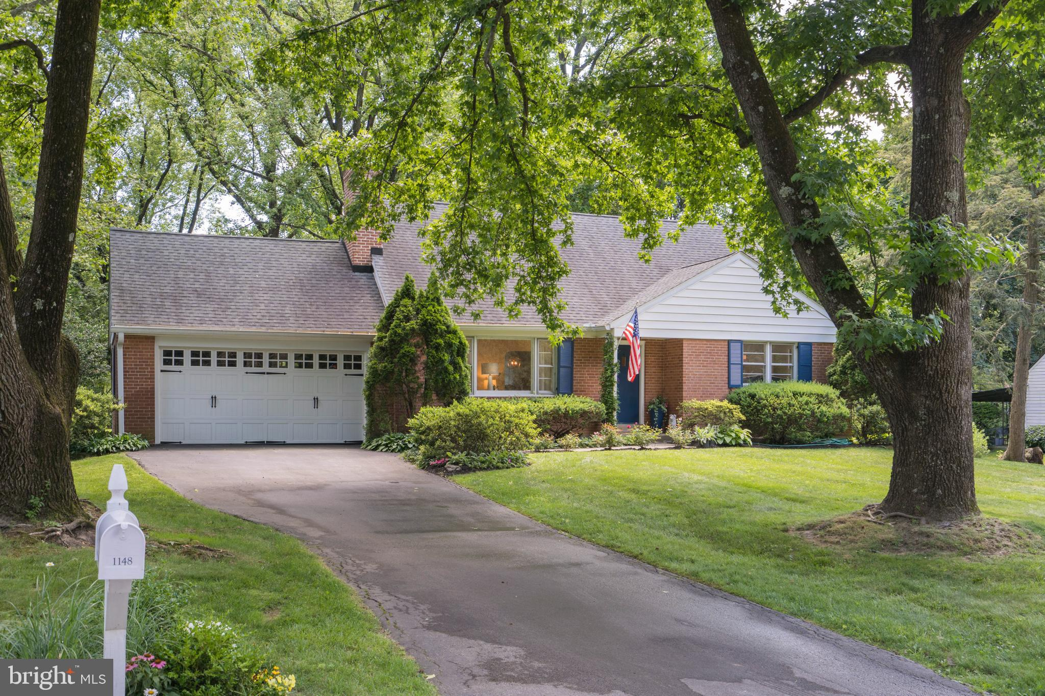 Here is an opportunity to own a wonderful brick cape cod with a 2-car garage in the highly desirable Valley Forge Estates in the top-ranked Tredyffrin-Easttown School District. This home is situated on close to 3-quarters of an acre on a beautiful level lot giving you lots of room for possible expansion. The interior features tons of natural light, fresh and neutral painted rooms, and gleaming hardwood throughout. The formal living room has a rustic brick fireplace giving you and your guest a warm and welcoming reception. The dining room is located off the living room and kitchen providing a cozy and intimate space. The eat-in kitchen leads out to the screened-in back patio and has abundant counter space and cabinets. There are two spacious first floor bedrooms each with ample closet space with access to a full bath. On the second level, you will find two additional wonderful sized bedrooms with access to the full bath in the hall. The basement allows for a ton of storage and provides lots of possibilities for additional living space. You will love entertaining on the fabulous patio with views of the mature landscape giving you a calming sanctuary to enjoy for many years to come. Located close to major shopping and corporate centers, King of Prussia, Gateway Shopping Center, Wegmans Market, Trader Joes, National and State Parks walking trails, and so much more. Don't miss your opportunity to be the next owner to come home to this special property!