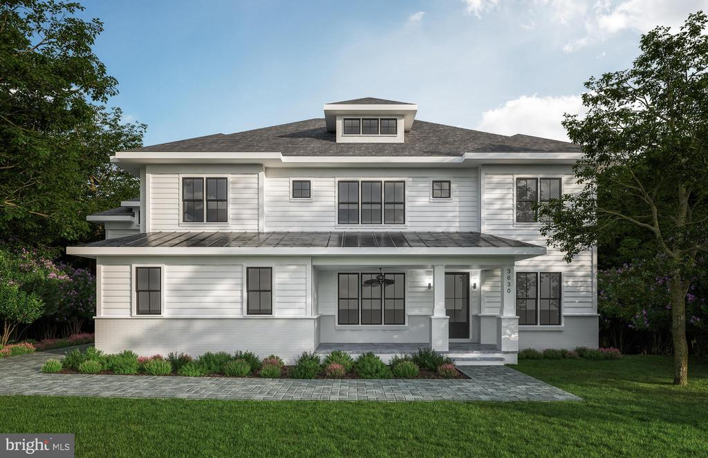 **Delivery Spring 2022** STILL TIME TO PICK FINISHES! Welcome to this SPECTACULAR TO-BE-BUILT custom home by popular builder M-R Custom Homes with over 7,300 finished square feet on a 17,023 square foot cul-de-sac lot. OPTIONAL ELEVATOR , 3-CAR GARAGE and EXTRA LARGE CUL-DEC-SAC LOT. This home features 7 bedrooms and 7 full bathrooms, a beautiful gourmet kitchen with breakfast room, a main level bedroom, and enough space for multiple home offices. The luxurious master suite includes a 2 very large walk-in closets; a gorgeous master bath that has a dual sink countertop, heavy glass enclosed shower and stand-alone soaking tub; and a private office/exercise room. Three secondary bedrooms on the second level, all with en-suite bathrooms and walk-in closets. Bonus Fourth floor loft includes wet bar and separate bedroom with full en-suite bathroom. The spacious basement features an expansive recreation room with wet bar and gas fireplace, theater room, exercise room, wine room, bedroom with access to full bathroom, and plenty of storage. Rear screened porch, with separate grilling deck, off the main level with stairs leading to the yard area make this home a great place to entertain. Within a mile of Washington Golf and Tennis Club, Gulf Branch Nature Center, Zachary Taylor Park, Potomac Heritage Trail , and Glebe Road Park with all its nature trails and tennis,  and basketball courts, Close to Arlington shops, restaurants, and entertainment.  Minutes to Chain Bridge and Spout Run Parkway. JAMESTOWN ES, WILLIAMSBURG MS, YORKTOWN HS.