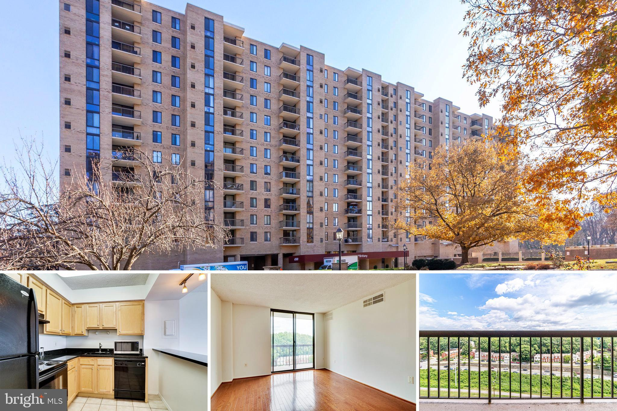 Updated open kitchen with granite counters and ceramic tile, living & dining areas have hwd floors, large walk-in closet, grt balcony. Great amenities like fitness center, outdoor pool, tennis courts. Bike path across the street.  Condo fee covers water, trash and sewer. 1 parking spot assigned.