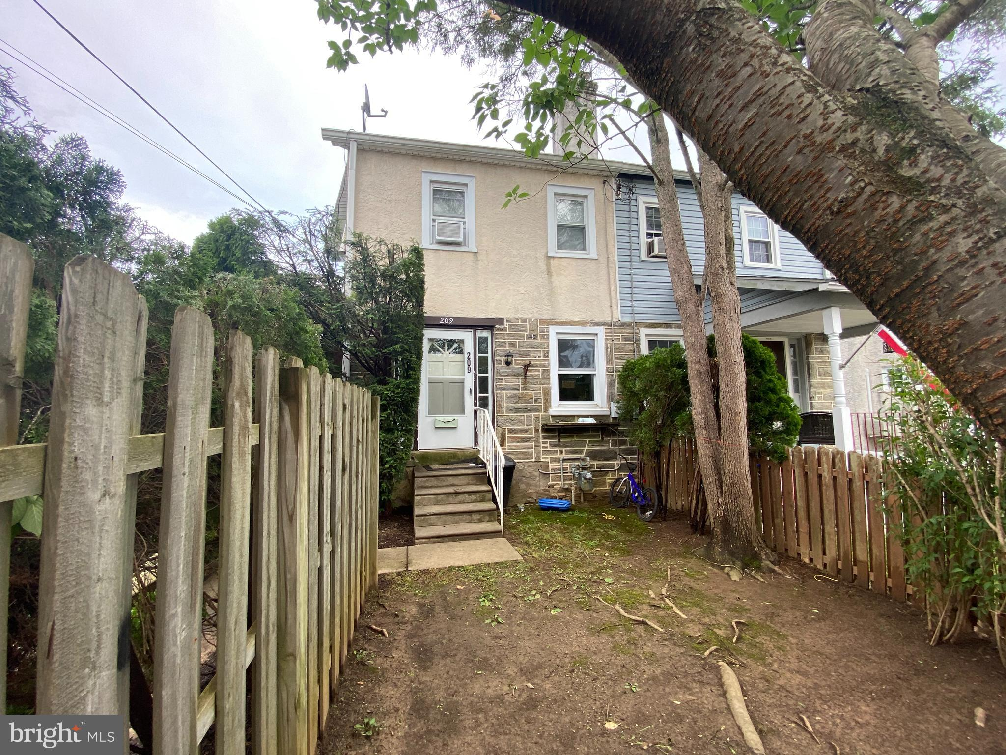 Fabulous opportunity to own an affordable twin in award winning Radnor Township.  First Floor boasts Living Room, Dining Room, Kitchen and Powder Room.  2nd Floor has 3 good sized Bedrooms and 1 full Bathroom.  Close to transportation, restaurants and much more!