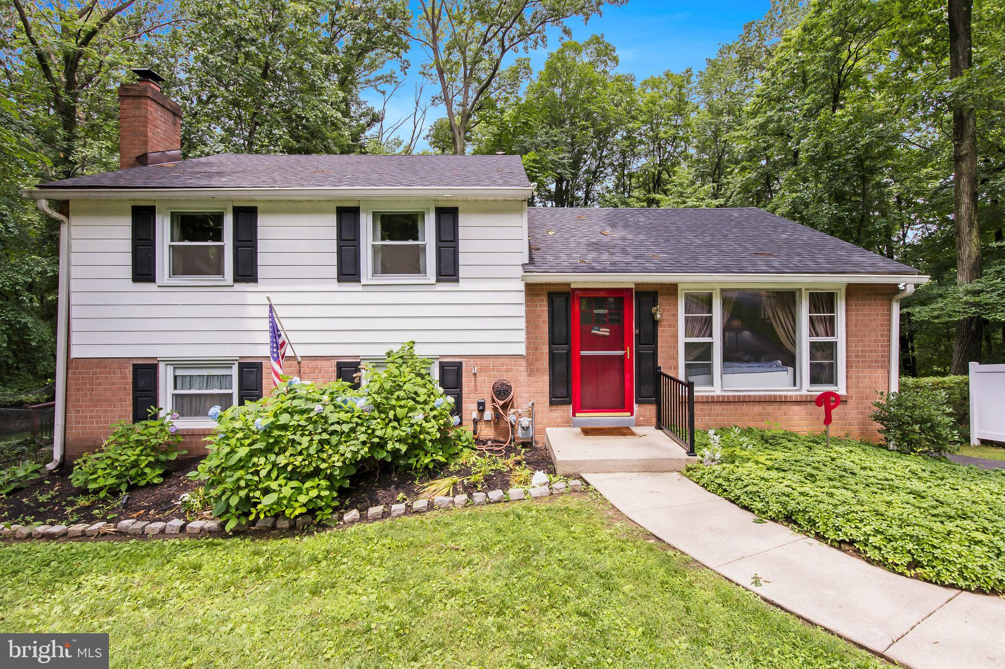 Meticulously maintained and spacious 3-bedroom, brick, split-level home with a large, private deck overlooking a beautiful wooded backyard.  Highly desirable Bob White Farm community in Upper Merion Township School District and close to the Bob White park. The updated kitchen opens to the dining area with a large breakfast bar.  The living room has a huge bay window looking out on greenery.  Three bedrooms with plenty of closet space. The upstairs bathrooms have been recently renovated.   The finished lower level offers additional space, a separate laundry room with additional storage, a ½ bath, and an exit leading to an outrageous deck with stunning views!. Two-car garage is oversized with extra ceiling height. This lovely home exudes pride of ownership and is lovingly well-maintained.