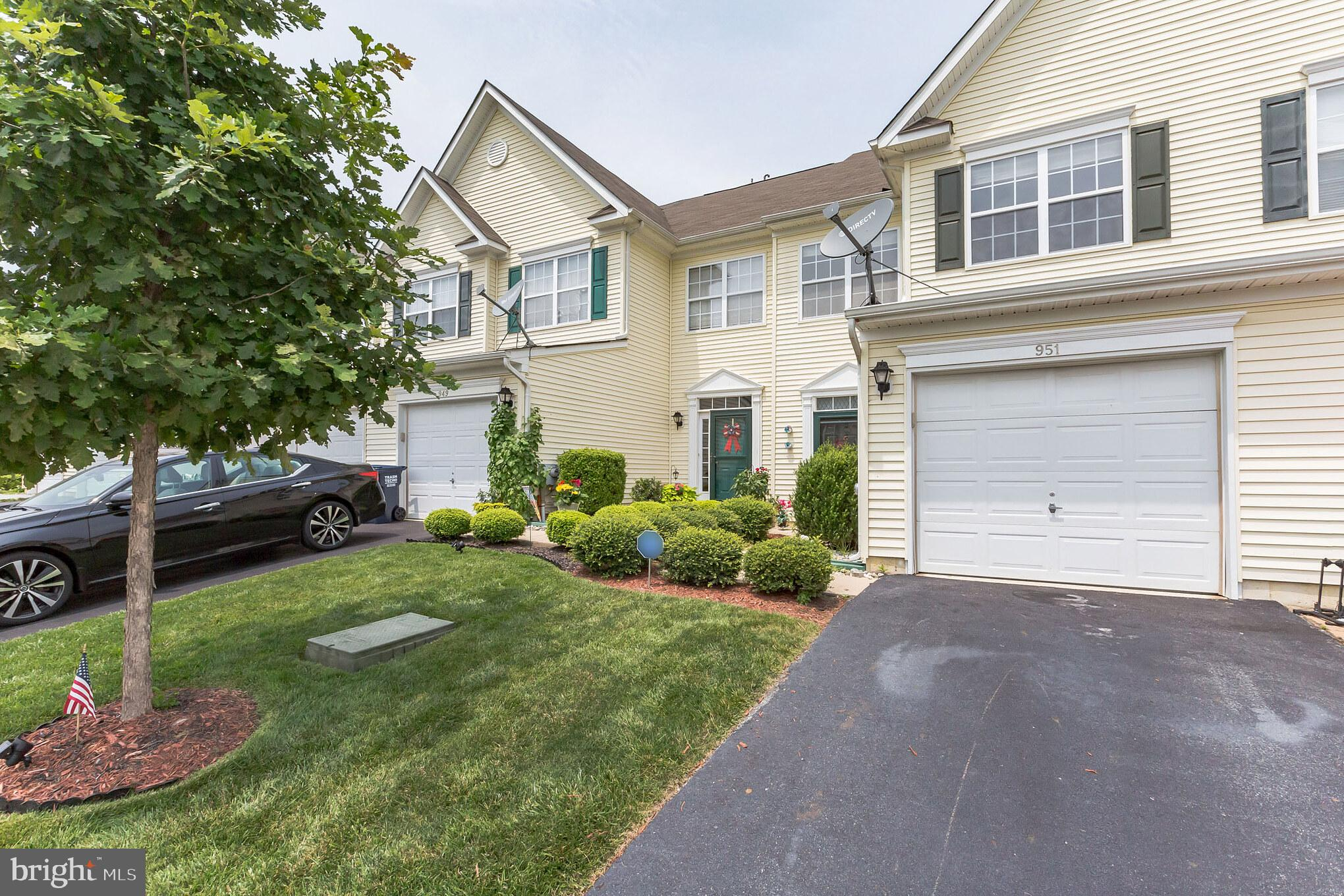 """Wow!!...no stucco!! Beautiful Townhome with vinyl siding and great curb appeal. Upon entering, notice the gleaming wood-like floors leading throughout most of the home. Enjoy preparing meals in the spacious eat-in kitchen, enriched with granite countertops, tile backsplash, stainless steel appliances, 42"""" cabinets, undermount sink, recessed lighting and wood like flooring and opens to the dining area with access to the deck and backyard. Perfect for relaxing or a family bbq. Completing the main floor is a bright spacious living room and a powder room. Retire at the end of the day to the master bedroom with a private bath and walk-in closet. Continuing on the upper level is a convenient second floor laundry room, two additional bedrooms and a main bath. Adventure upstairs to a generously sized multifunctional loft with two ceiling fans, which can be utilized as a 4th bedroom, family room, office or playroom with it's own private full bath. Location is a plus, close to restaurants, coffee shops, gas stations, grocery & liquor stores and more.  Situated just outside the kitchen is a patio furnished with patio set to relax and enjoy a bbq or family dinner.  Included is an Amish built shed for additional storage.  A NEW A/C unit was installed last year. Route 1 for easy access to DE Beaches and I-95 to Wilmington, Philadelphia and New Jersey. Hurry book your tour today!"""