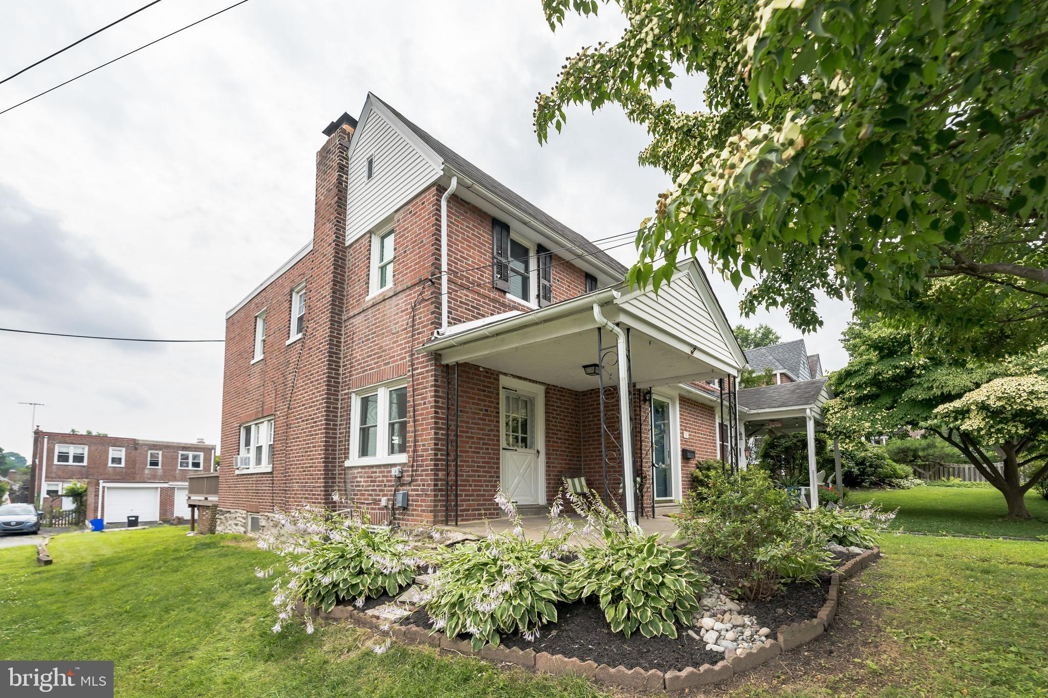 Hello Gorgeous! Welcome to 717 Aubrey Ave. In Ardmore Park.  This 3 bedroom 1 1/2 Bath Twin Is Impressive The Moment You Walk up Entryway.  Enter through the Front Door Vestibule with Coat Closet or From the Charming Front Porch!  Newly Finished Hardwood Floors Throughout and a Brick Wood Burning Fireplace Make This Living Area Beautiful and Cozy.  Continue on To the Formal Dining Room which Opens To The Gorgeous Kitchen.  New Cabinetry, Granite Countertops, Stainless Steel Sink and Appliances with Breakfast Bar Will Sure to Please.  If Outdoor Dining is Your Preference, Serve on the Large Back Deck!  Head to The 2nd Floor Also With Newly Finished Hardwood Throughout, A Large Master Bedroom with New Full Bath with Radiant Heated Floor and Two More Ample Sized Rooms.  The Lower Level is a Walkout and Features a Powder Room and  Flex Space with Closet.  New Roof and Water Heater! Walking Distance to Septa Train Station, Merion Golf Course, Top Ranked Chestnutwold Elementary,  Normandy Park and Botanical Gardens and Ardmore Playground and Fields.  A Quick Drive to Philadelphia and PHL Airport!  Don't Miss Out On This Opportunity To Own In Ardmore!