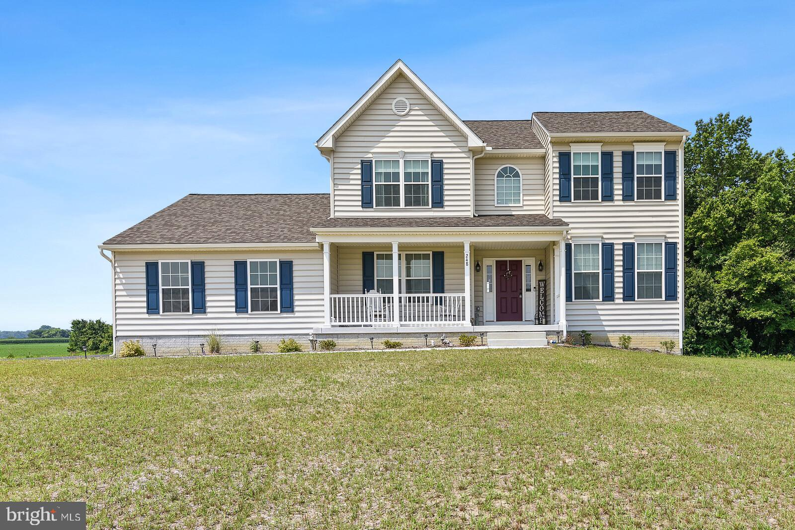 This six month old Grant lol model in the very popular Jockey Hollow neighborhood is now available. Please come see this upgraded four bedroom two and a half bath on .80 of an acre! Plenty of room to possibly add a pool later. This beautiful setting in the quiet town of Clayton is just what you need to relax! Many upgrades in this home make it a showstopper. Gleaming hardwoods throughout the first floor, a sunroom, stainless steel appliances and granite countertops just to name a few! Brand new custom shades have been added to the windows totaling over more than $7,000.00! When the home  was built in 2020 a whole house generator hook up was installed. The unfinished basement has a walkout with just a few steps brings in a ton of light! The way the basement is designed, would make it very easy to finish. Dilsheimer is a regional builder known for their superior quality and this Grand II model has always been a customer favorite.  Additional features include an extended tiled primary shower, comfort height countertops and popular cabinet colors.