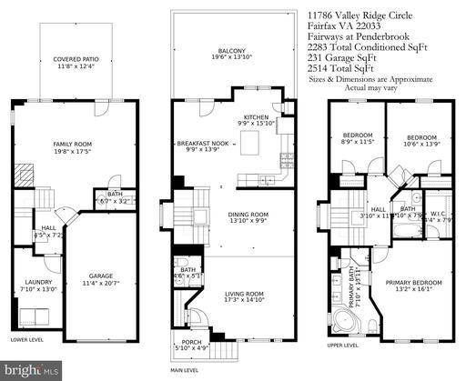 11786 Valley Ridge Cir Fairfax VA 22033