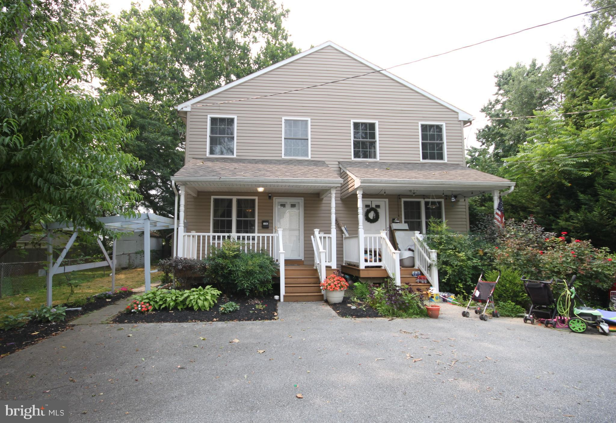 Please see Virtual Tour. Sunny and bright 7 year-old twin house in Great Radnor school district. A fantastic property size with great front porch and back deck, huge fenced yard and plenty of off-street parking. Nice private front yard with plenty of yard for gardening. Walk up to the covered front porch. Large living space with nice kitchen and dining area. Hardwood floor throughout the entire of the house. The beautiful kitchen with cherry cabinet and granite counter top. Laundry is around the breakfast area. There are 3 bedrooms and 2 bathrooms upstairs. Master bedroom with the full bathroom. Other two good size bedrooms share a large hall way bathroom which has a practical double sink. Downstairs is a large unfinished basement. It offers a great storage space. This home truly offers the best of everything because of it is amazing Bryn Mawr location. This house is very close to public transportation, near high way entry, and walk to university. Radnor school district, convenient to everything. Welcome!
