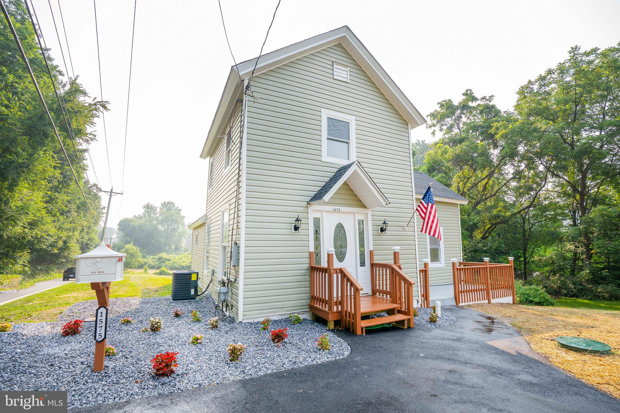 This beautiful home was completely renovated from head to toe in 2021. This home sits on one of the largest lots in the area 2 ACRES!!! The renovation includes a new septic system (2021), HVAC systems (2021), roof (2020), new kitchen appliances and granite countertops, hot water heater (2021), new flooring throughout the whole house, recessed lighting throughout much of the main floor, everything is brand new. Comfortable and inviting, the family room has a modern fireplace, it is the perfect spot for relaxation. Continue to the living room is the eat-in kitchen with new cabinets, stainless steel appliances, and a granite oversized island. The sliding glass doors lead to a new deck with incredible views overlooking the rear yard.  The attraction of this home continues to the upper level with 2 bedrooms and 1 full bath. There is no lack of space in this house that does not provide a view of the private backyard. Continue the entertaining outside in the spectacular 2 acres patio where you can park your cars, boat, motor home without or travel trailer without restrictions. Located within the Red Clay School District and close to major roads, restaurants, schools, parks, and entertainment, it does not get any better. Please hurry and schedule an appointment today! You will not be disappointed. Easy to show with immediate confirmation.