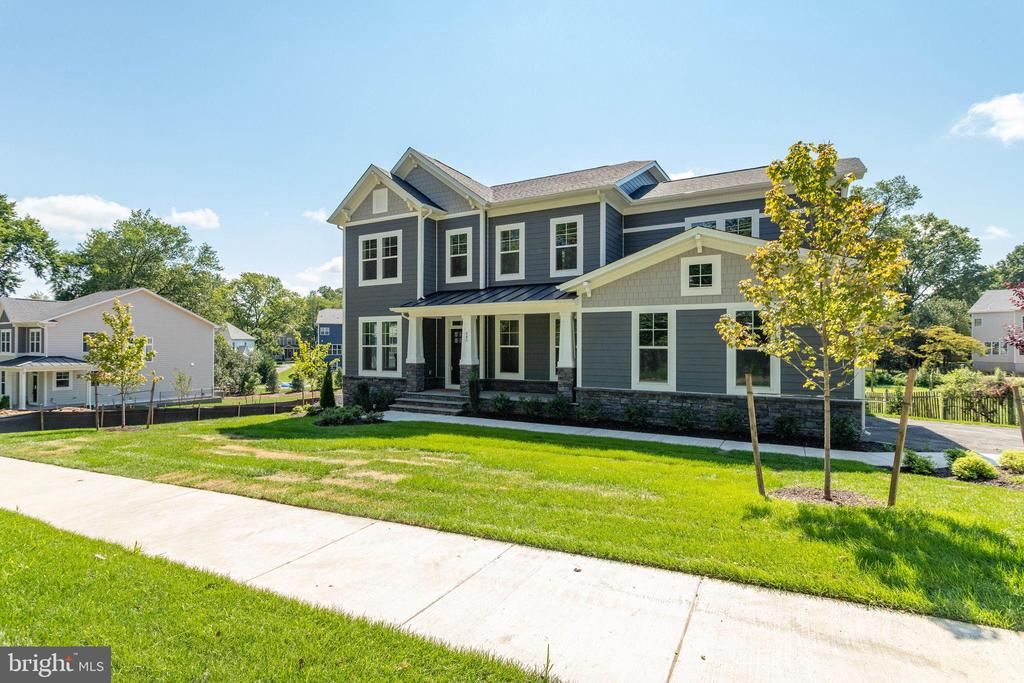 """OFF-SITE OPEN HOUSE, Sunday, 7/25 from 2pm-4pm @ 2449 N Jefferson St, Arlington. Is there a Cul-De-Sac Lot in your future?  Great new Evergreene listing! Great Location, Walking to Downtown Vienna. Evergreene is showing The Madison K -Open Concept Design and there is still time to select the option for the Madison or even select a different model. The Madison has a 1st floor study separated from large open concept Kitchen w/island & Nook, DR and Family Room. The Builder has removed all the columns shown in the photos.  Evergreene offers Hardwood on the entire main level, discrete stairs, a Semi-Formal Dining Room, large Mudroom, and space for a private open or enclosed Deck.  4 BR/4BA up, and MBR w/huge closets.  The Madison is Cost effective to build, come design your own home.  Find out how Evergreene Homes can build your home at a price that fits your budget. All Evergreene Homes come with the """"best in the business"""" 10 year transferable Builders Warranty, 2X6 upgraded framing, thermal insulation, and pest tubs in the exterior walls. Quality is not expensive, it's priceless! Come see why so many NoVA buyers have chosen Evergreene Homes!"""