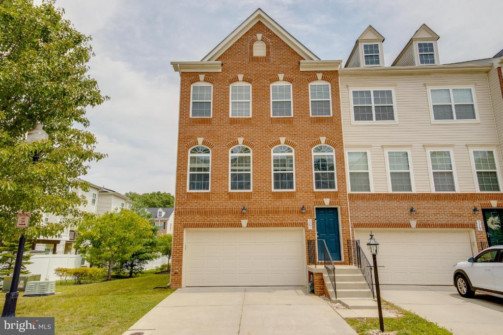 Beautiful end unit in the popular Tanyard Springs! End unit w/upgraded kitchen with maple cabinetry, high end granite, hardwood.   Laundry room on the bedroom level.  Spacious bedrooms.  All of the cabinets, counter tops, bathrooms were updated 6 years ago with top quality line.  Interior finishes do not look like any other unit in this community.   Owner's suite w/large walk-in closet & master bath w/dual vanity, tiled flooring, antique white dual vanity, granite counter, separate shower and oversized soaking tub.  Oversized deck. Fenced-in yard with gate. Community offers a lot of amenities with a low HOA fee. Community amenities include in-ground pool, 24 hr gym, 2 tennis and 2 basketball courts, baseball field, 4 playgrounds, 3 dog parks and 3 miles of walking and jogging trails, community garden center and a club house, changing/locker rooms and showers. Centrally located between Baltimore, Annapolis and Washington. Close proximity to Coast Guard, Fort Meade, NSA, BWI Airport, light rail.