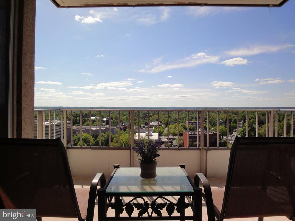 """Do you want to live and own in the best location in downtown Towson? Now is the time to take the leap and make it happen.  Check out this modern one-bedroom condo with a private open balcony facing West.  This one-bedroom condo offers new vinyl wood flooring, a new water heater, a new HVAC unit in the bedroom, granite kitchen countertops, and fresh paint throughout. The two sliding glass doors and windows are only a few years old (major savings for the new owner).  Access the private balcony from the living room or bedroom.  Updated kitchen, bathroom, and walk-in closet. The large private balcony (114"""" x 132"""") on the 19th floor = amazing, tranquil sunset views.  24/7 concierge, 24/7 fitness room, sprinkler system in every condo, trash chute on every residential floor, and library/clubroom.  State-of-the-art elevators were installed in 2018.  Minutes from everything you need to live, love and learn.  The heated swimming pool is open until Labor Day weekend so hurry!  Convenient garage parking is available for a monthly fee ($100) per car.  This is an estate sale.  Condo offered as-is.  Soon you will be able to scoot around and enjoy the FREE Towson Loop."""