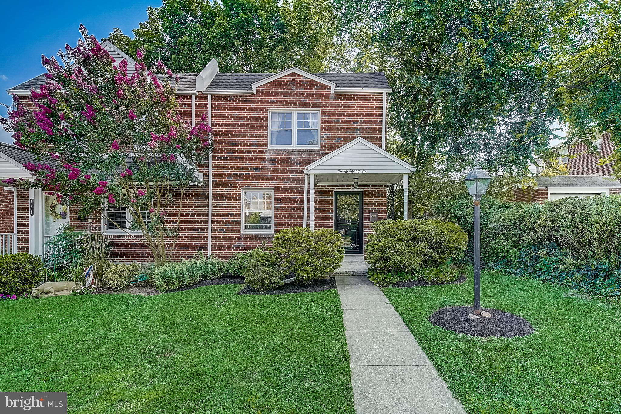 Don't miss this lovingly maintained brick twin home in Ardmore Park! This fantastic home boasts hardwood floors, a great rear deck, attached garage, and offers 3 spacious bedrooms, including the large Primary Bedroom with expanded Walk-In closet. Upgrades from current owner include a new roof (2019), new front door and garage door (2020), new hot water heater (2020), and a brand new washer/dryer (2021). Conveniently located just blocks from local elementary school, public transit, Suburban Square, Trader Joe's & downtown Ardmore shopping and eateries. This is the one!