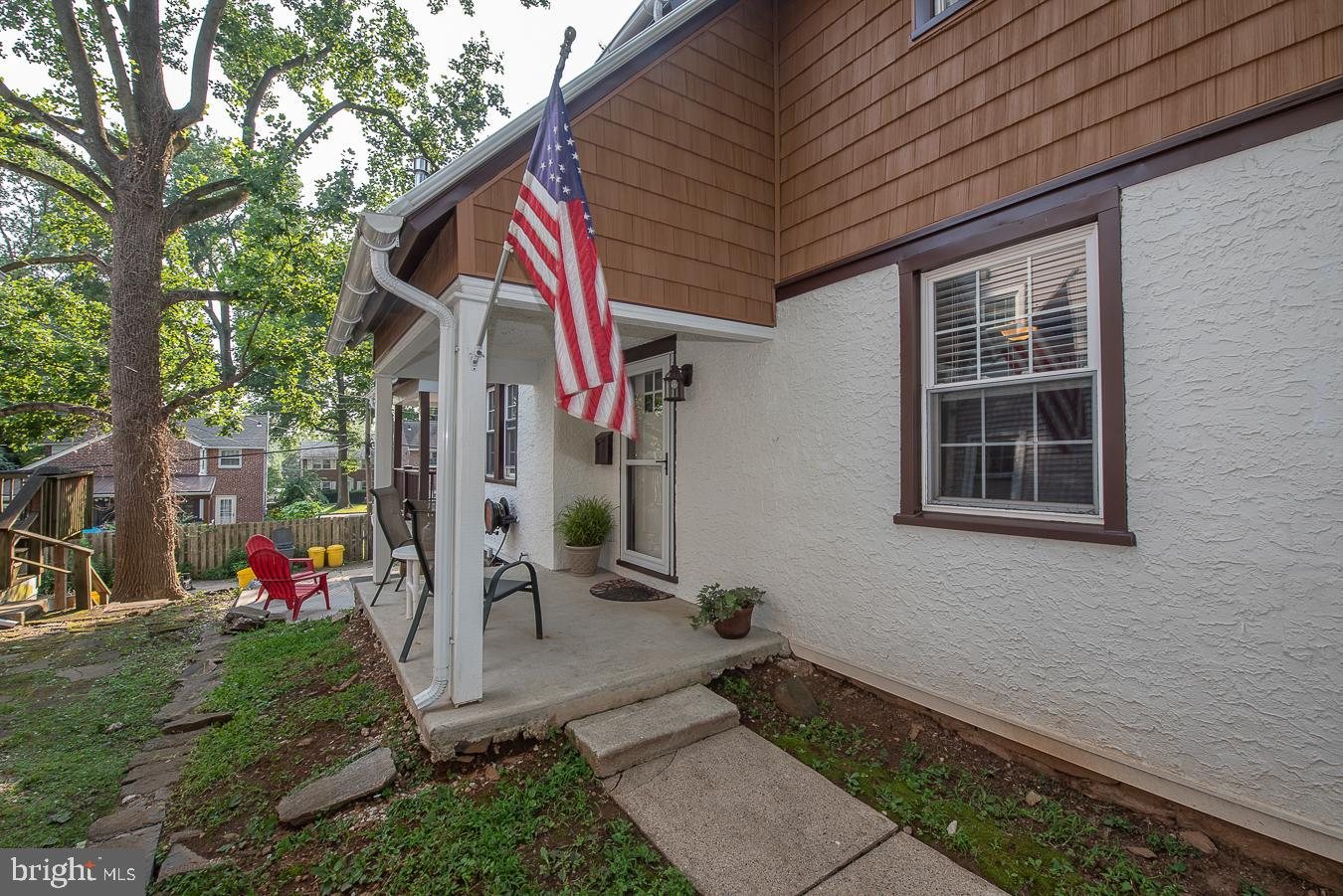 Welcome to this absolutely stunning renovated 3 bedroom, 1 bathroom home in the Penn Wynne section of Wynnewood! Enter under the front porch into this spacious and bright home that boasts the highly sought after open floor plan. Upon entering this home, you will be greeted by the living room with a gas stove, large dining room and gorgeous kitchen that overlooks the back deck and yard. The updated kitchen was spared no detail with granite countertops, tile backsplash and farmhouse sink. Heading to the second floor, you will find 3 spacious bedrooms and a full bathroom with tile floor and combination tub/shower. Last but not least is the walk-out unfinished basement with plenty of room for storage or opportunity for extra living space! This home also offers a 1-car garage and 1 car off street parking. Some of the many upgrades done to this home to note are new electrical wiring (2017), new exterior doors (2019), timber deck (2020), new gutters & siding (2020), furnace (2020) and much more! Walkable to award-winning Penn Wynne elementary (Lower Merion School District), several parks, and the library - This is one home you don't want to miss!