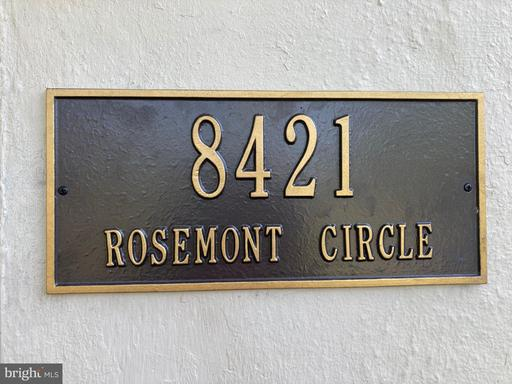 8421 Rosemont Cir Alexandria VA 22309