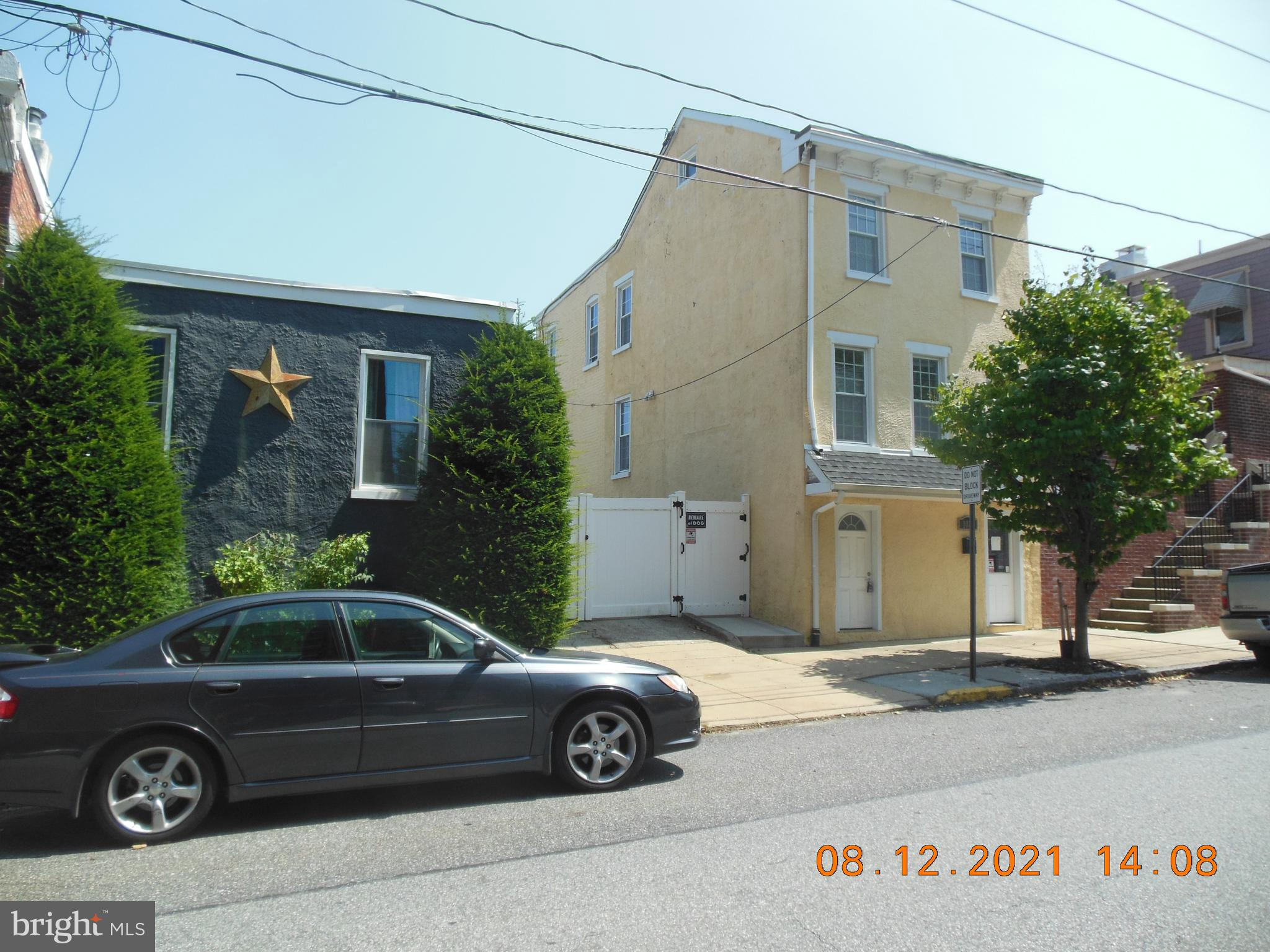 A true Wilmington gem in Little Italy! Check out this one of a kind private oasis completely fenced in. This awesome property has a 3 CAR PLUS PRIVATE DRIVEWAY.  Walk to the best restaurants and bars in Reference MLS # DENC 2000597.   Wilmington's Trolley Square. You also have a front row seat to the St. Anthony's Italian Festival. The main house has 3 bedrooms and 1.5 Baths, (finished basement, approx. 400 sq. ft.), Upper level has wood floors and the whole house was completely renovated in 2010. Newer appliances  and a new dishwasher. The whole house has been freshly painted. Have summer barbQ's  in the private backyard that has a stone patio, fruit trees and other colorful seasonal blooms.  And if that wasn't enough, there is a 400 + SQ. FT.  SEPARATE BUILDING on the property that the current owner used as an office for a small business remodeled 8 years ago and complete with heat, air and powder room. Use it as a BUSINESS to generate INCOME or turn it  into an IN-LAW SUITE, GAME ROOM or GUEST COTTAGE! POSSIBLE  LOT SUB-DIVISION?! You will not want to miss this property! All appliances included in sale.