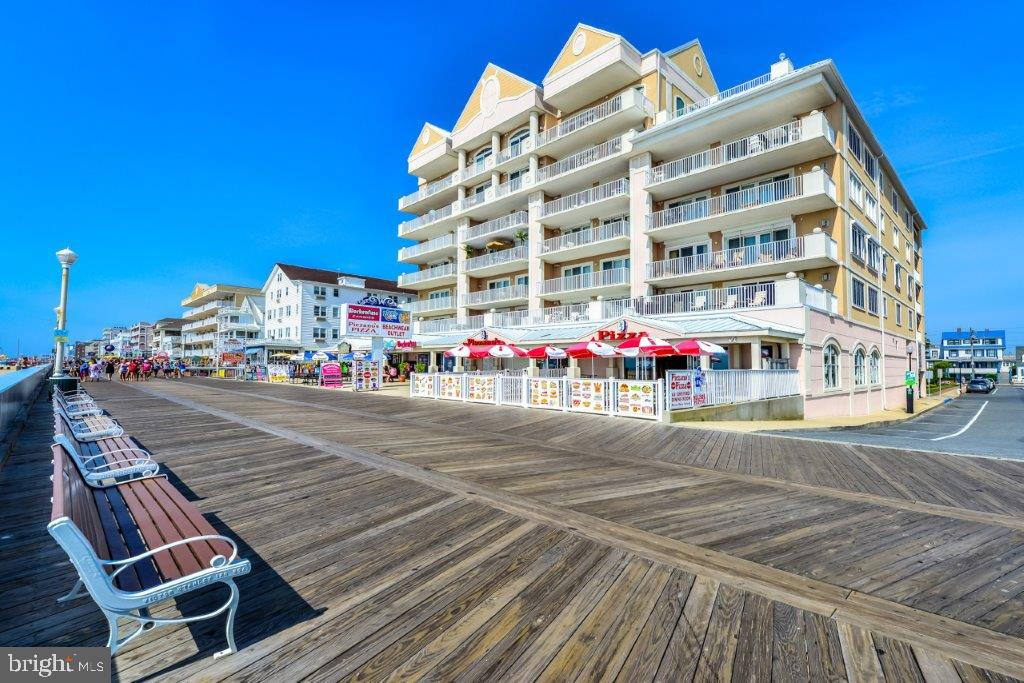 Are you looking for the best Ocean City has to offer. PRIME LOCATION!! TAKE ADVANTAGE OF THIS RARE OPPORTUNITY to own a much sought after ocean front building located on the Ocean City boardwalk with high income producing potential.  This PENTHOUSE END UNIT has the best view in the building.  This unit produces $100,000.00 plus in rental income. Direct Ocean Front meticulously maintained 4-bedroom 4 1/2 -bathroom, 2876 square feet of luxury living. The unit has granite countertops with stainless steel appliances. Furnished with beautiful decor.   Dual Master Suites on the Ocean with unparalleled views that lead out to an over sized balcony and one with its own master private balcony. The unit has two fireplaces, with one in the master bedroom. Living Room is absolutely huge with a with well-appointed kitchen. The only deeded parking spots in the building conveys with the unit in the covered gated garage.  A large  storage room/locker in the building  that is perfect for all your beach toys and bikes.  Additional feature include a 30 ft oceanfront balcony with a spectacular unobstructed view of the beach and the boardwalk.  South Beach is a secure, private building that is well managed located right on the Boardwalk. Amenities include an outdoor pool, indoor pool, and fitness area. This property truly delivers a luxury lifestyle at the beach.