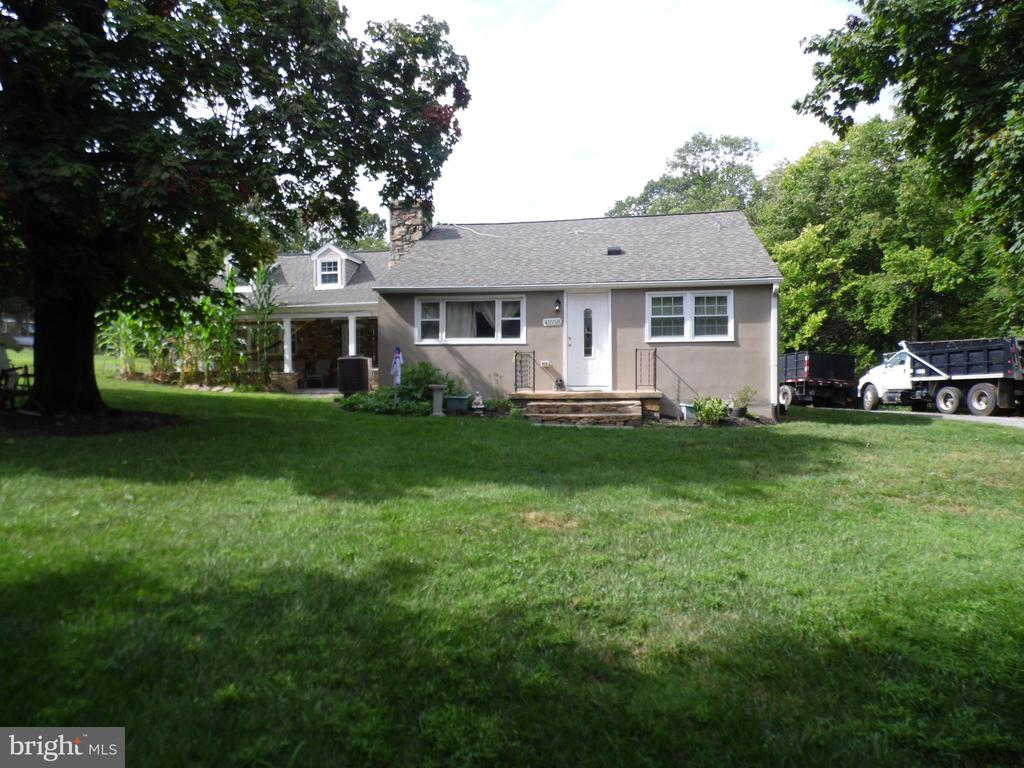 Kitchen updated in last two years, newer septic, newer well AC replace last year, newer water heater, new hard wood floor, beautiful cape cod, with 5bedrooms and 2 full baths, 4 big sheds, 2.97Acres with large trees , being sold as is.