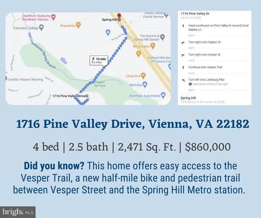 1716 Pine Valley Dr Vienna VA 22182