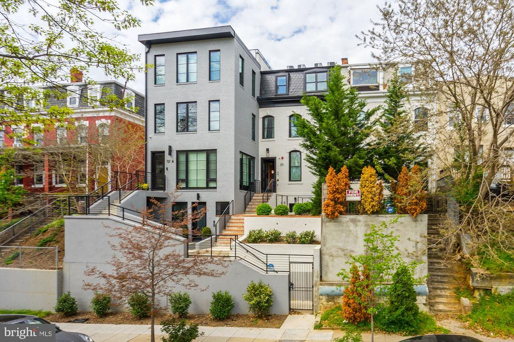 Welcome to The Flats at Euclid Heights -- located in DC's coveted and historic Pleasant Plains neighborhood, conveniently situated between Columbia Heights and Shaw. The light-filled, three bedroom, 2 bathroom penthouse unit is ideal for entertaining -- boasting a gourmet designer kitchen with black accents and Bertazzoni appliances and Quartz countertops, along with two large decks and a private rooftop terrace. The luxurious primary suite includes a custom walk-in closet and large bathroom with soaking tub and double vanity. Other key features include solid core doors, hardwood floors, exposed brick, Nest thermostat, security system, and secure entry gate to property with one car parking. Convenience and accessibility abound -- less than 1/2 mile to the new Whole Foods, a short walk to U Street and Shaw/Howard Metro stations, and walkable to number shopping, dining and entertainment options in Shaw, Parkview, U Street Corridor and Columbia Heights neighborhoods.